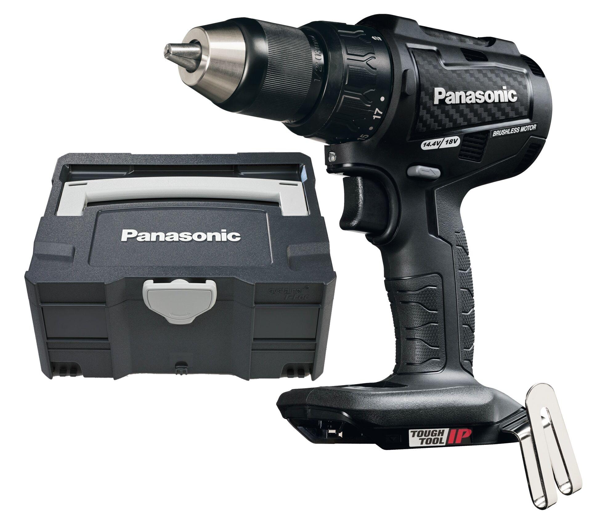 Panasonic EY79A2XT32 18V iskevä akkuporakone runko laukussa