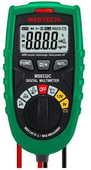 Mastech Mini CAT III MS8332C taskumallinen yleismittari