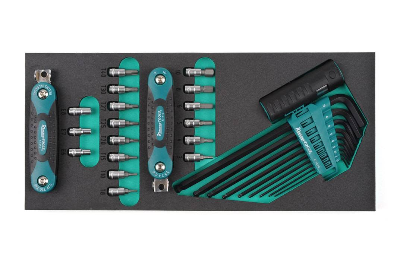 Kamasa-Tools K26062 pitkä & lyhyt 1/4