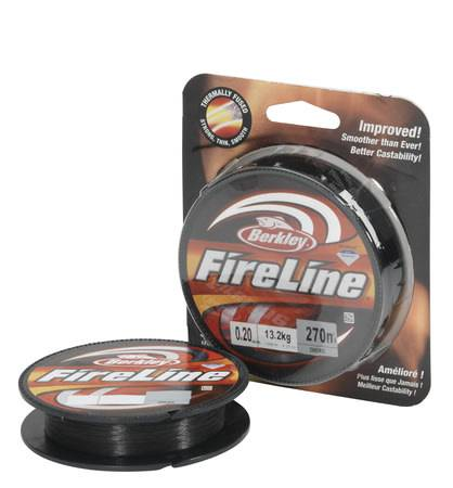 Berkley Fireline 270 m smoke siima