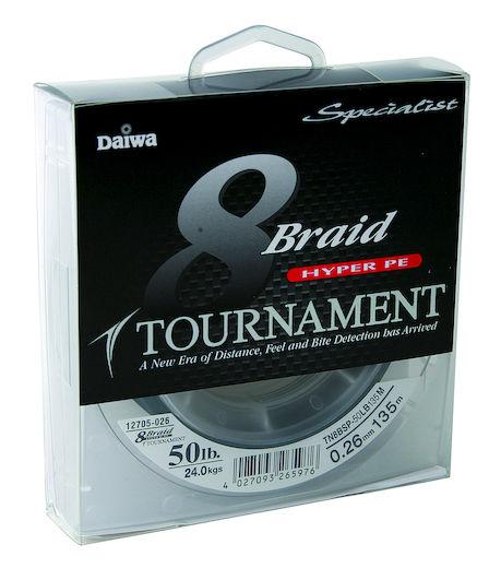 Daiwa Tournament 8 Braid vihreä siima