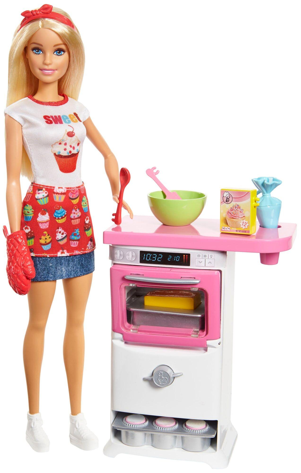 Barbie Story telling nukke