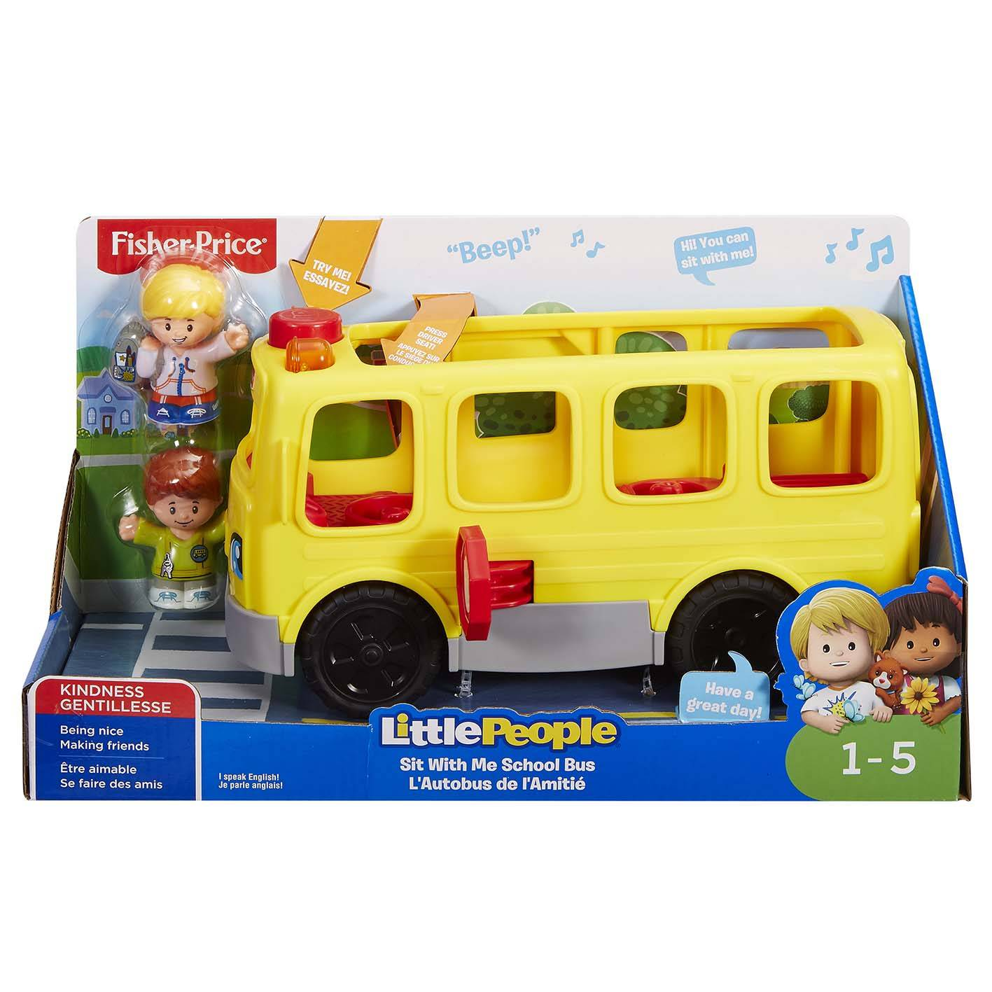 Fisher-Price People bussi ja figuurit