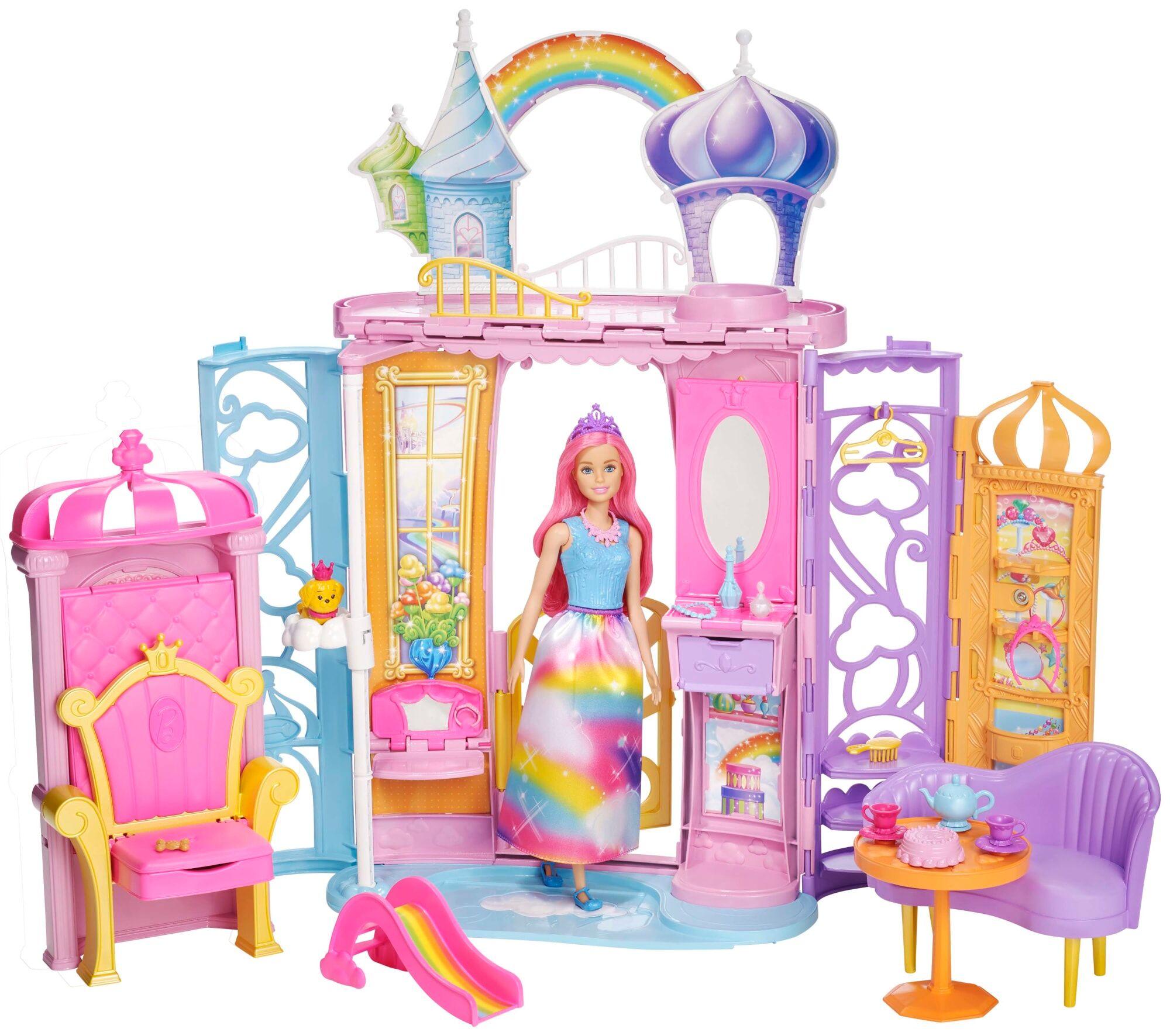 Barbie Rainbow Cove linna ja nukke
