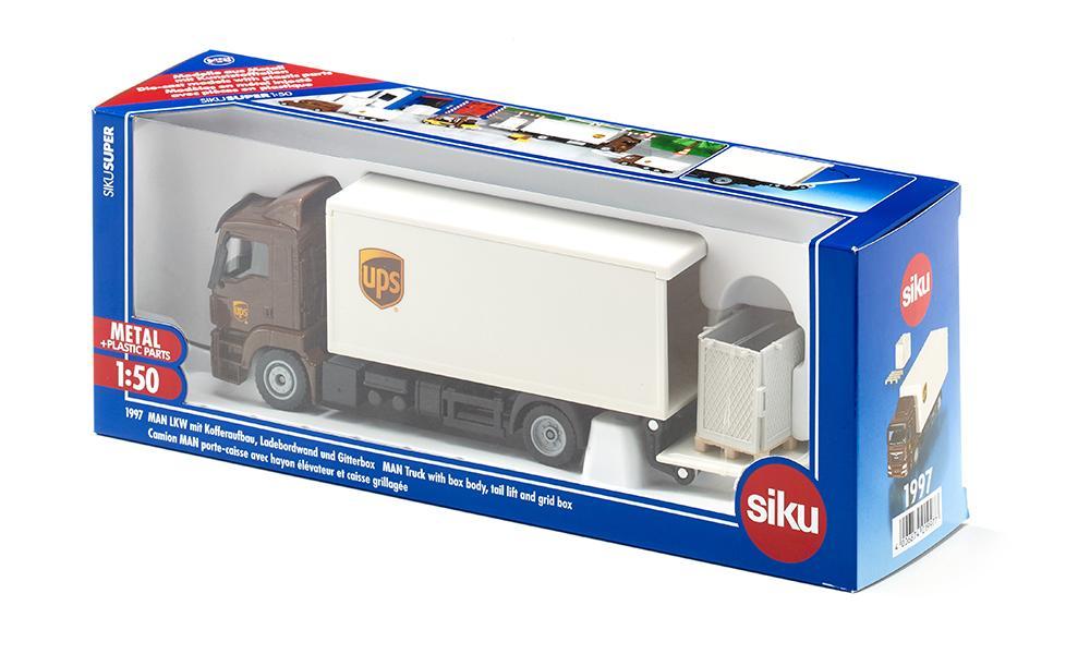 Siku MAN UPS 1:50 rekka-auto