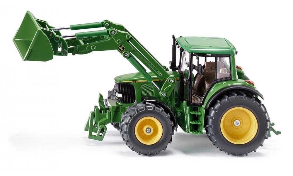 Siku 3652 John Deere traktori etukuormaajalla