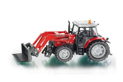 Siku 3653 Massey Ferguson -traktori trukkikauhalla