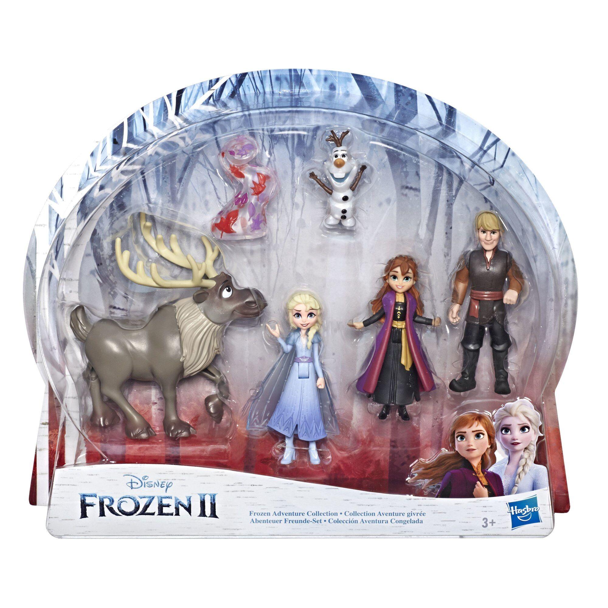 FROZEN Disney Frozen 2 pikkunukke monipakkaus