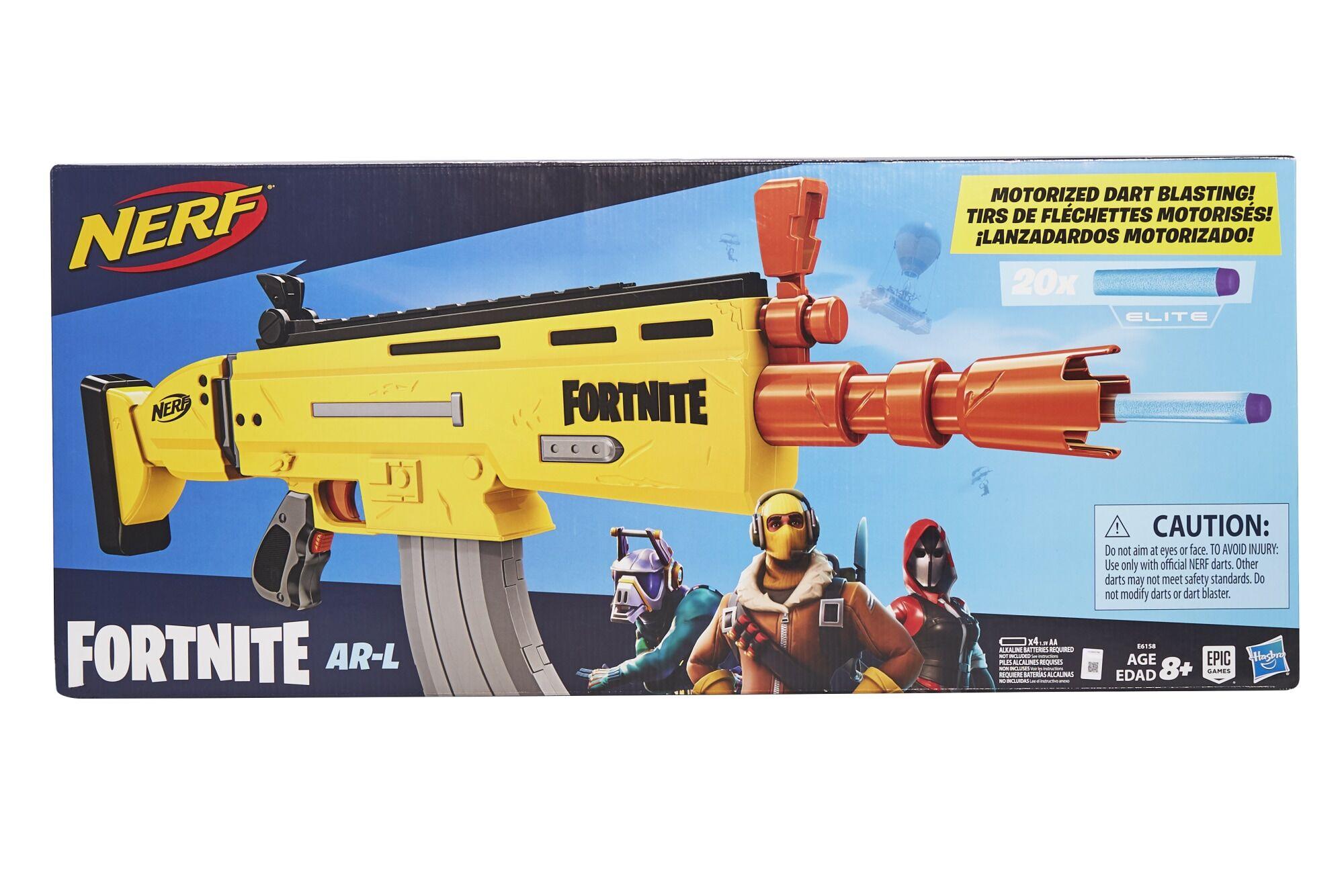 Nerf Fortnite Risky Reeler AR-L nuolipyssy