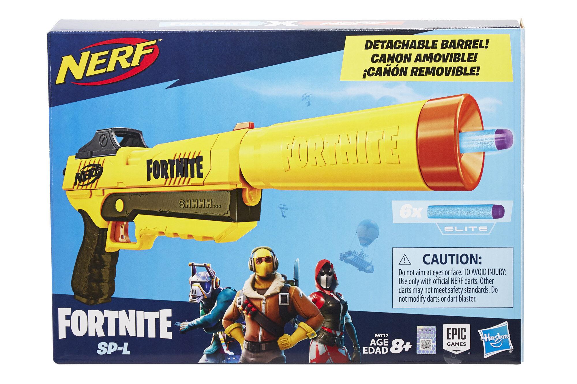 Nerf Fortnite Sneaky Springer SP-L nuolipyssy