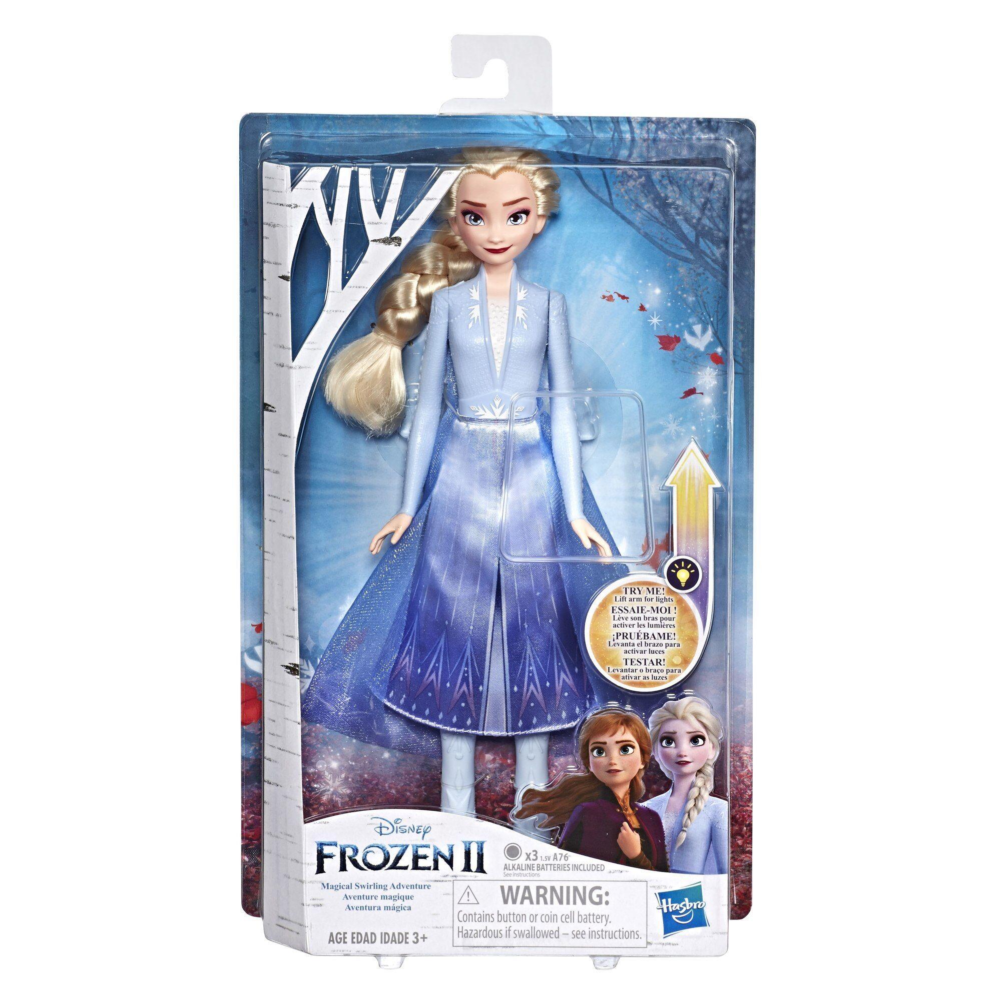 FROZEN Disney Frozen 2 Light Up Fashion nukke