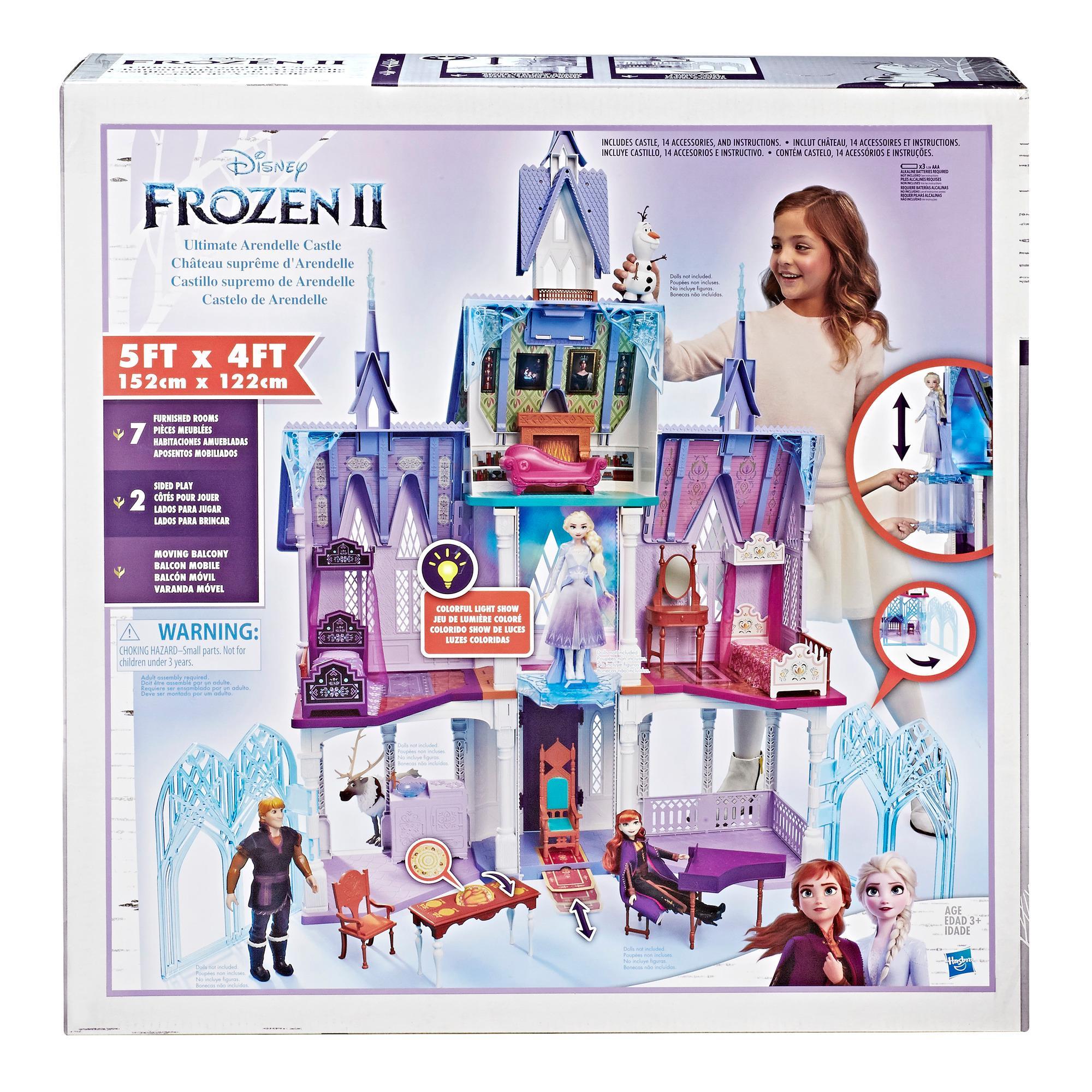 FROZEN Disney Frozen 2 Ultimate Arendelle linna leikkisetti