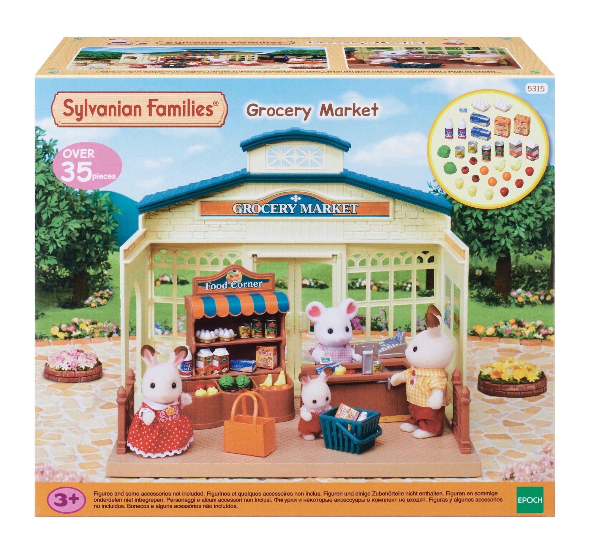 Sylvanian Families 5315 Kylän supermarket