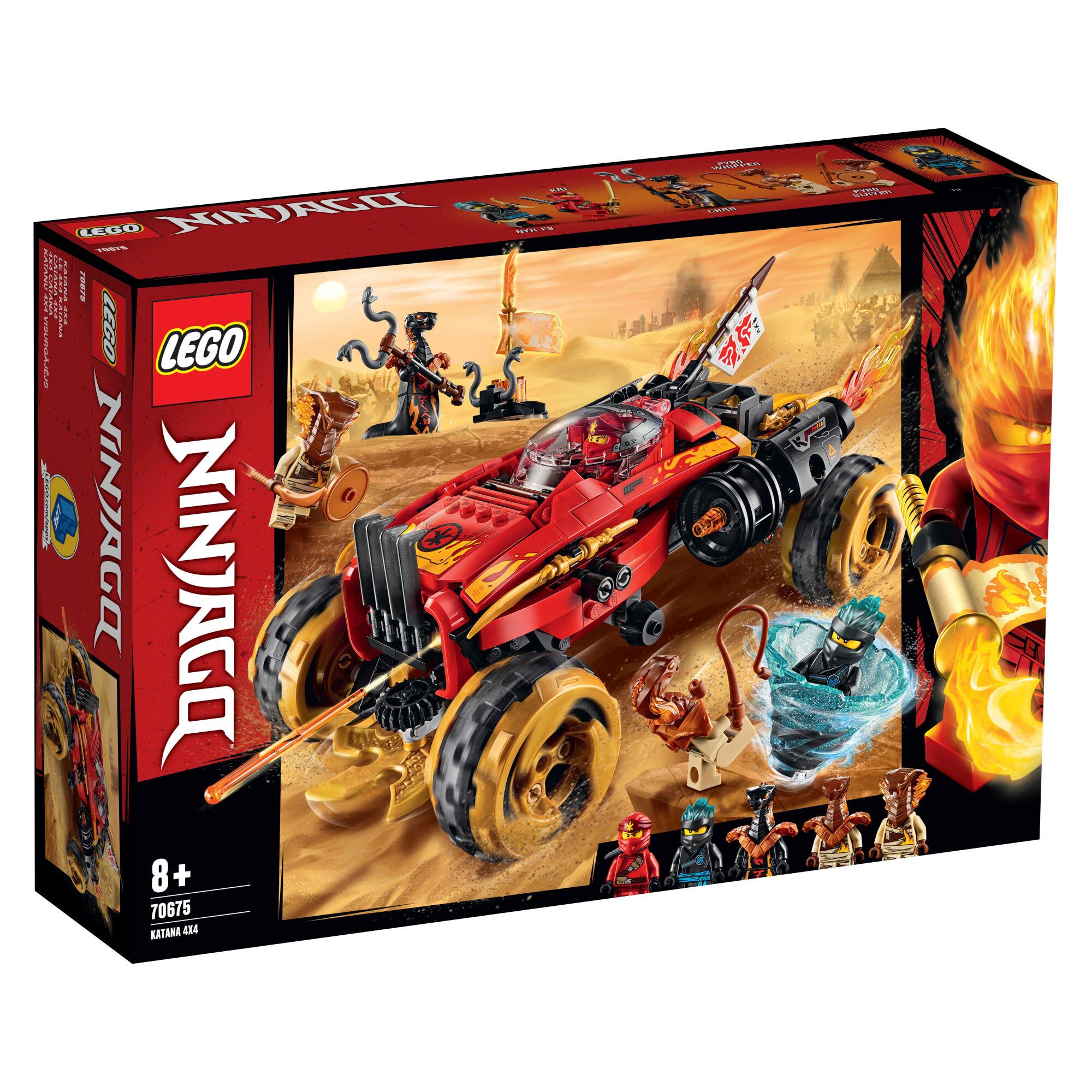 Lego 70675 Ninjago Katananeliveto