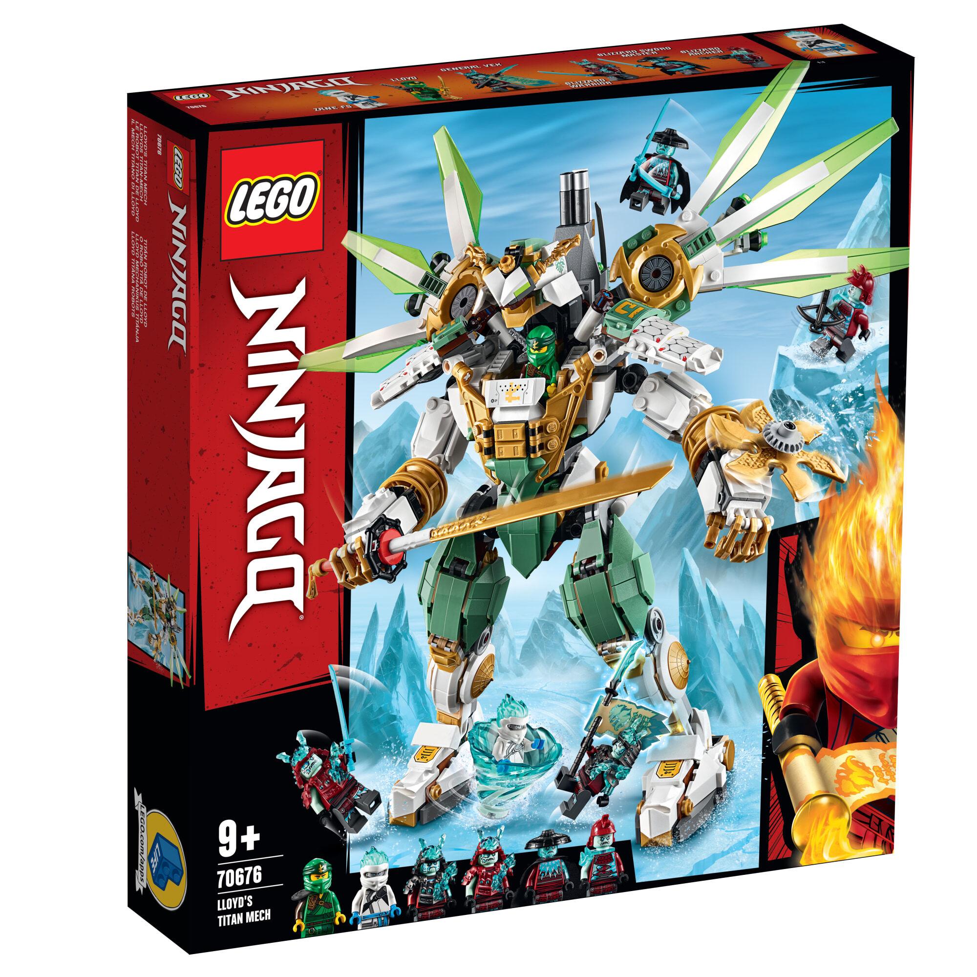 Lego 70676 Ninjago Lloydin titaanirobotti