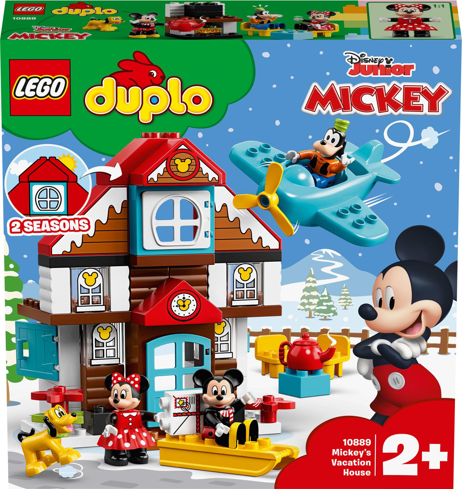 Lego Duplo Disney 10889 Mikin lomakoti