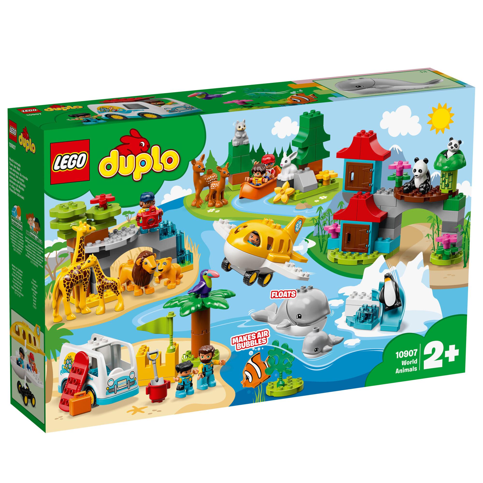 Lego Duplo Town 10907 Maailman eläimet
