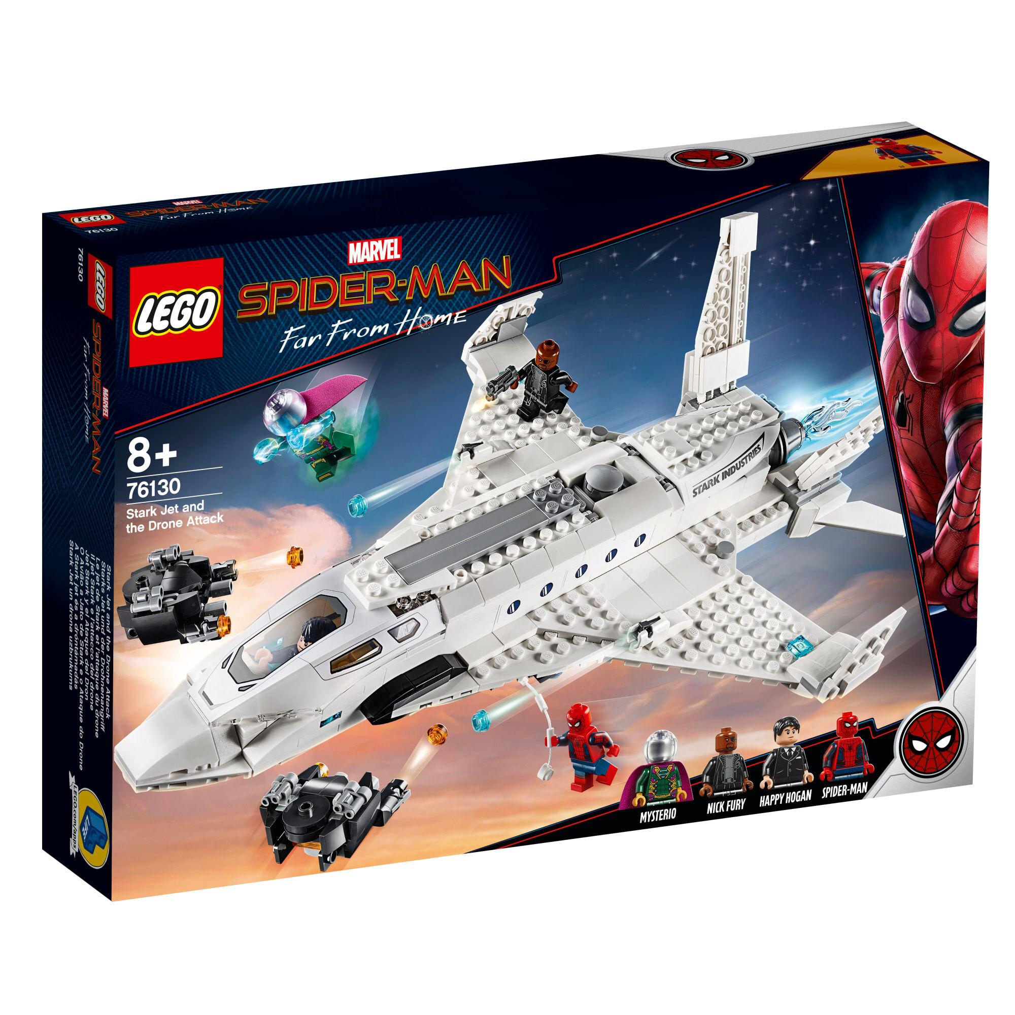 Lego 76130 Super Heroes Starkin suihkari ja lennokkihyökkäys