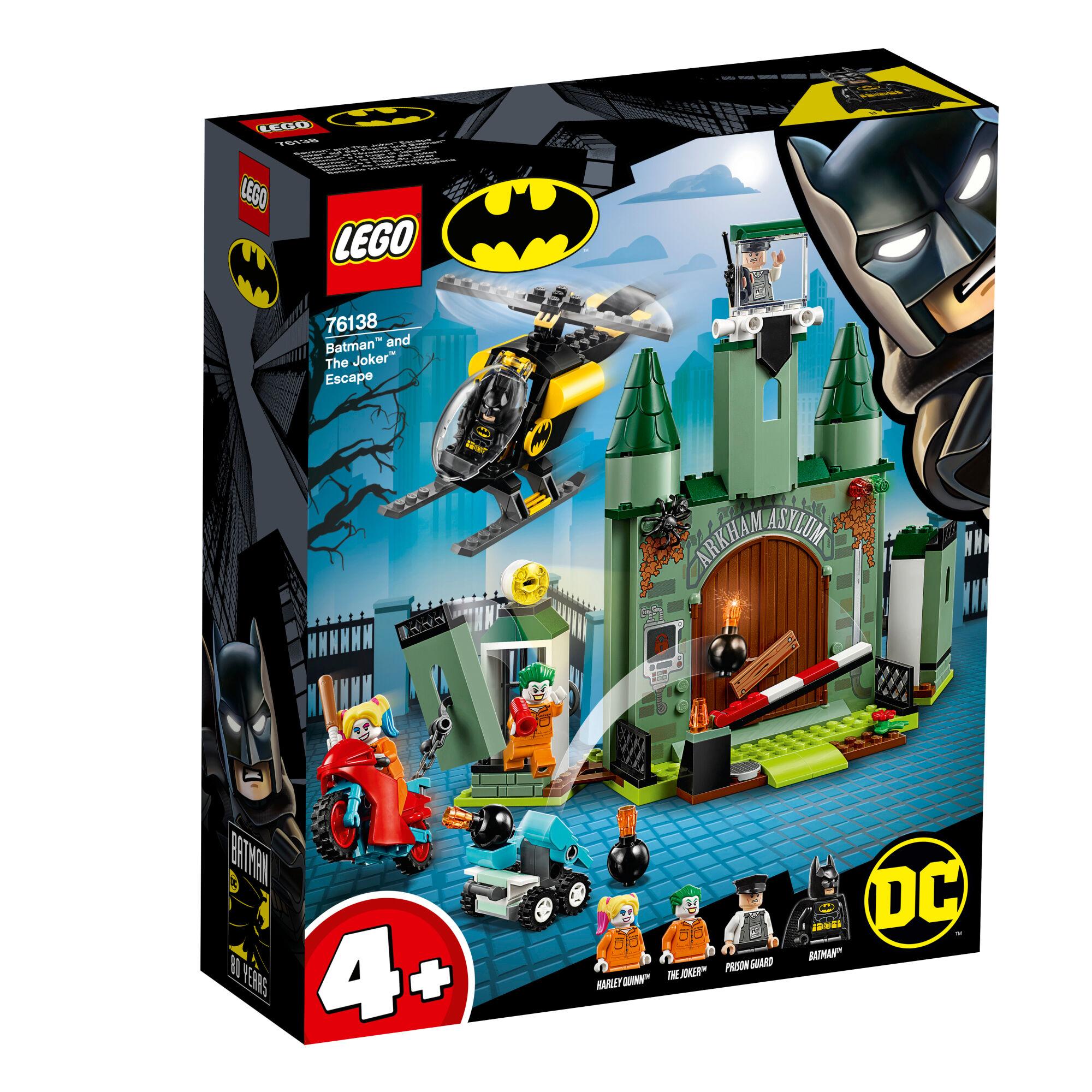 Lego 76138 Super Heroes Batman™ ja Jokerin™ pako