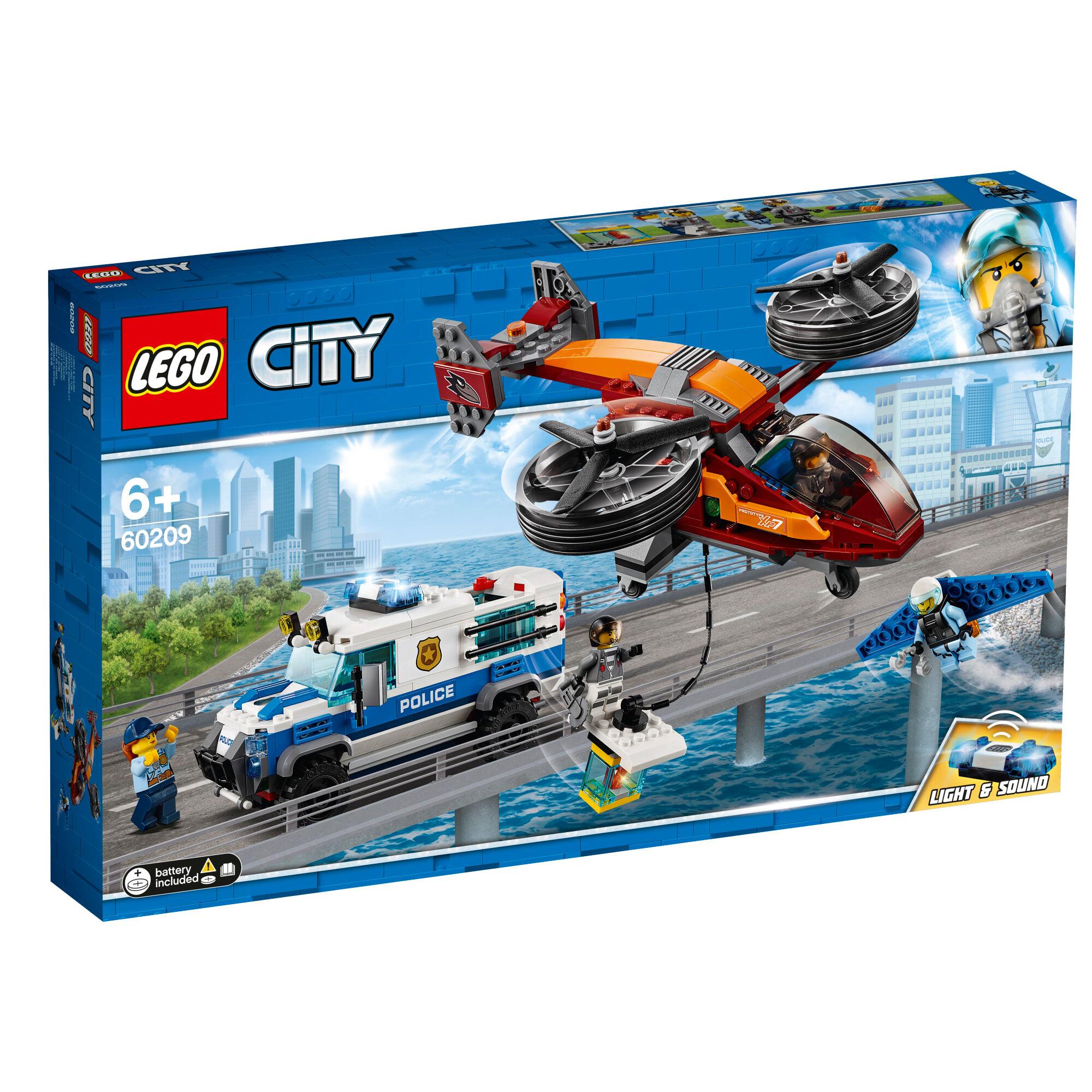 Lego 60209 City Police Taivaspoliisi ja timanttiryöstö