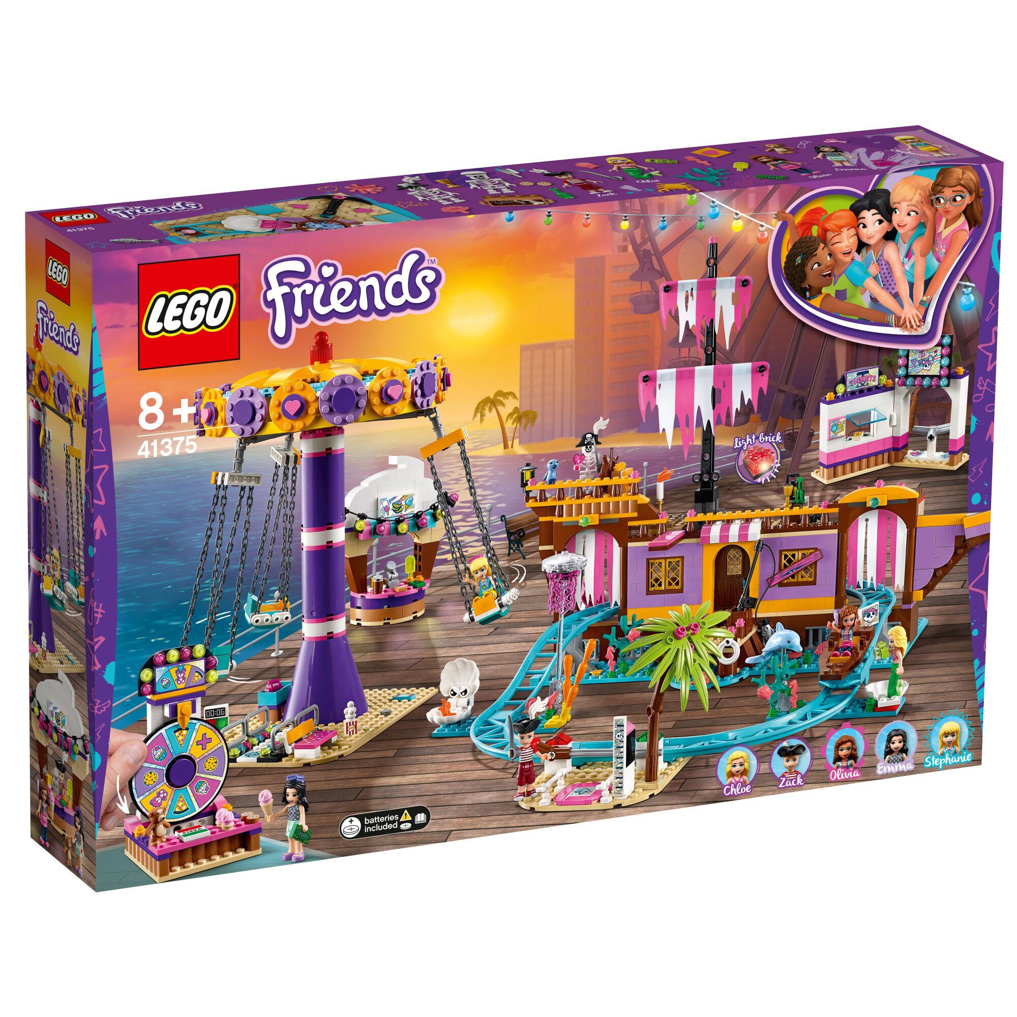 Lego Friends 41375 Heartlake Cityn huvipuistolaituri