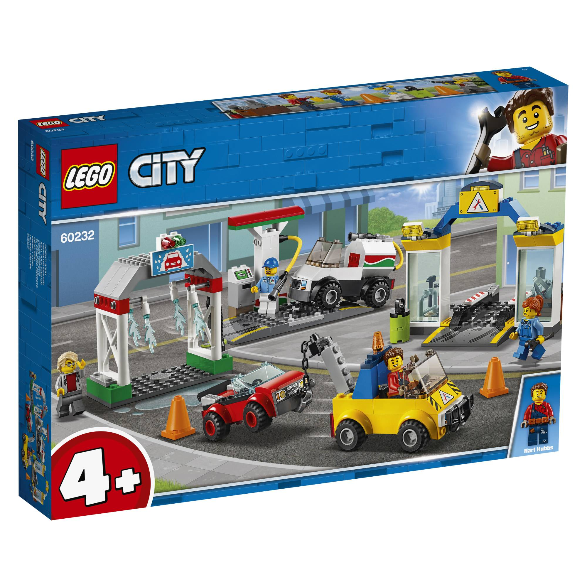 Lego 60232 City Town Huoltoasemakeskus