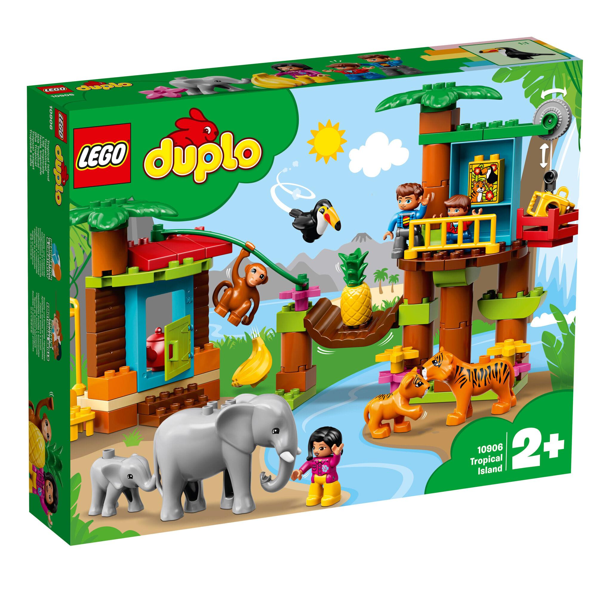Lego Duplo Town 10906 Trooppinen saari