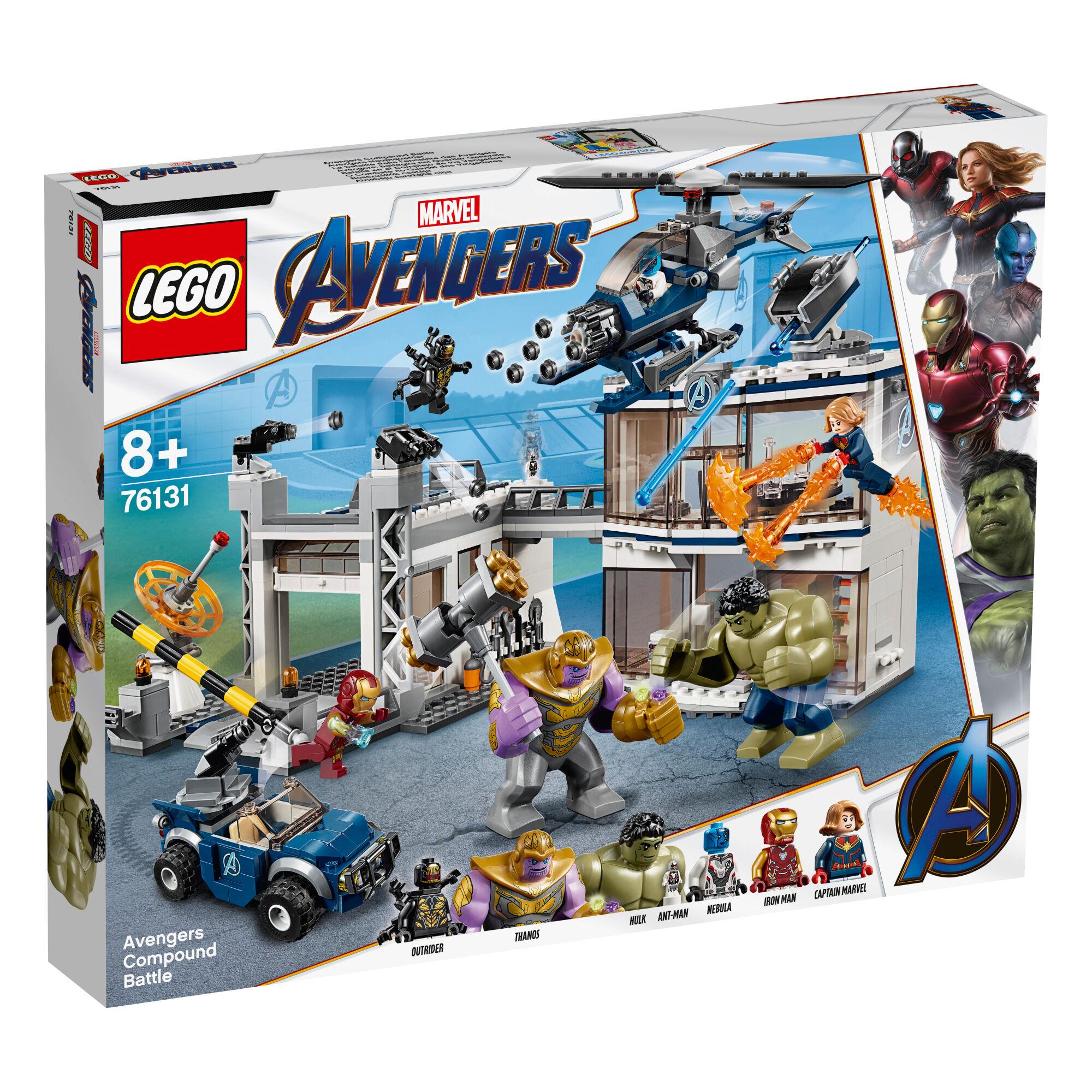 Lego Super Heroes 76131 Kostajien yhteistaistelu