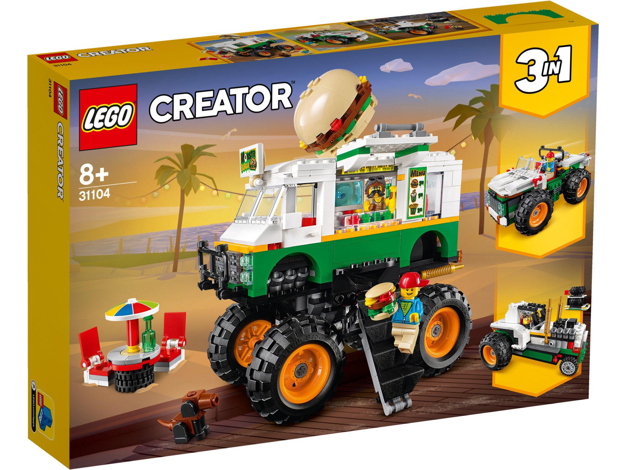 Lego Creator 31104 Purilaismonsteriauto