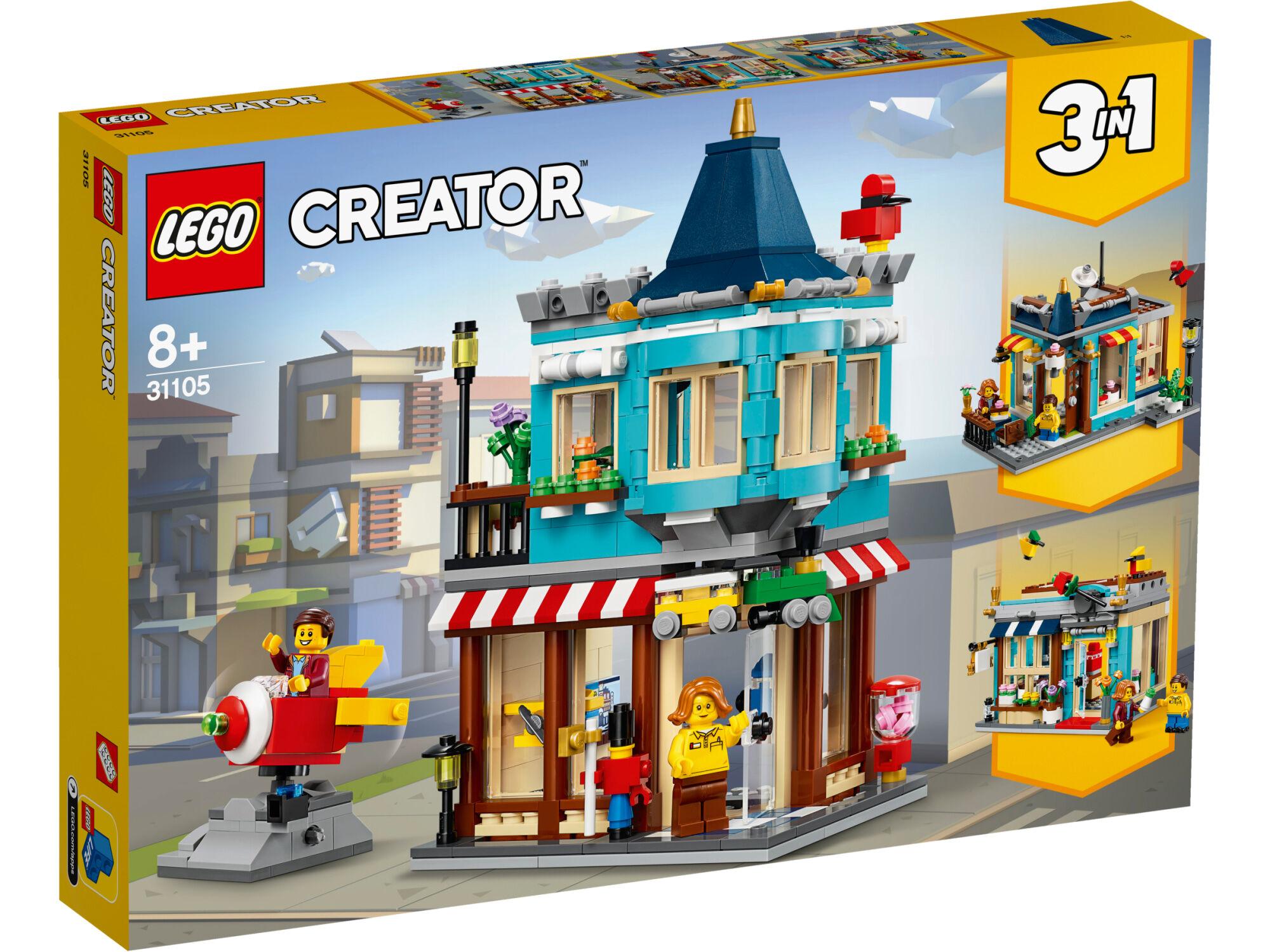 Lego Creator 31105 Rivitalon lelukauppa