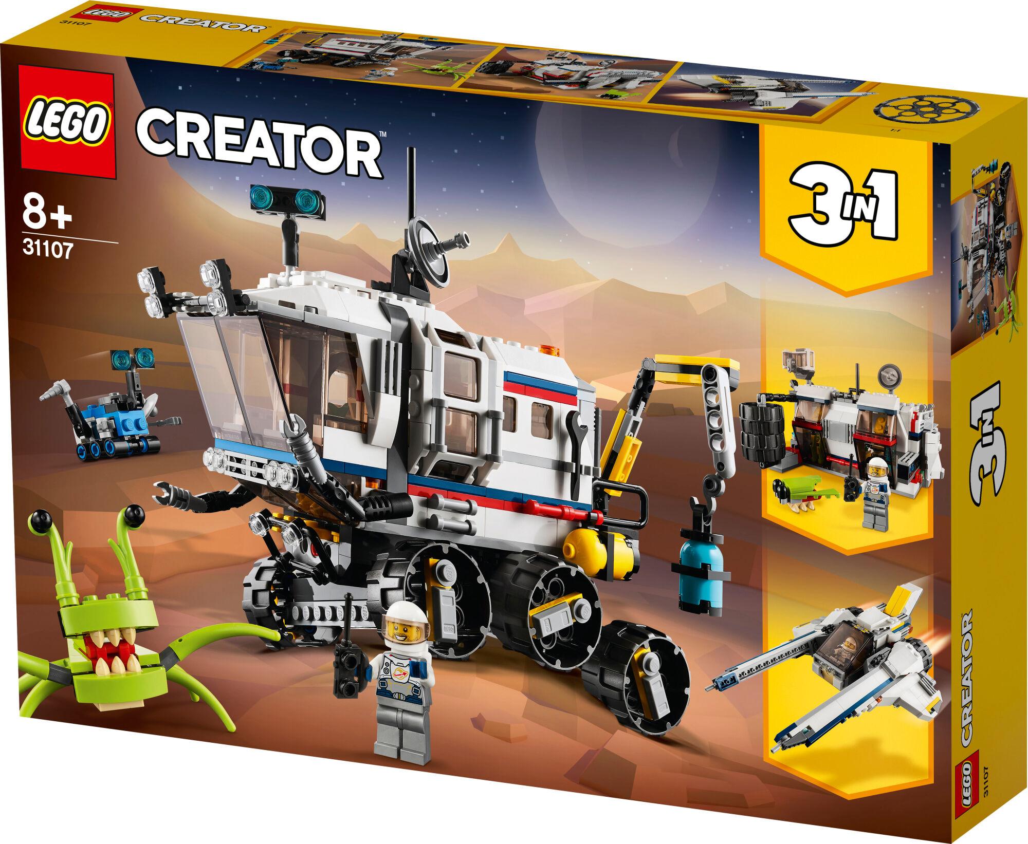 Lego Creator 31107 Avaruusmönkijätutkija