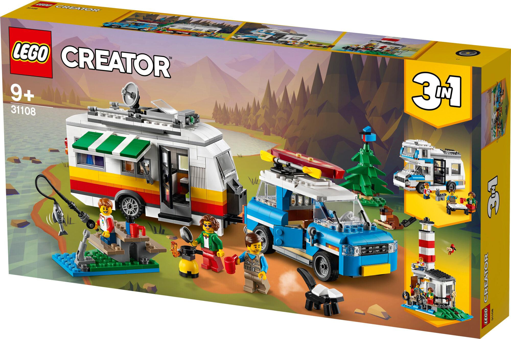 Lego Creator 31108 Karavaanariperheloma