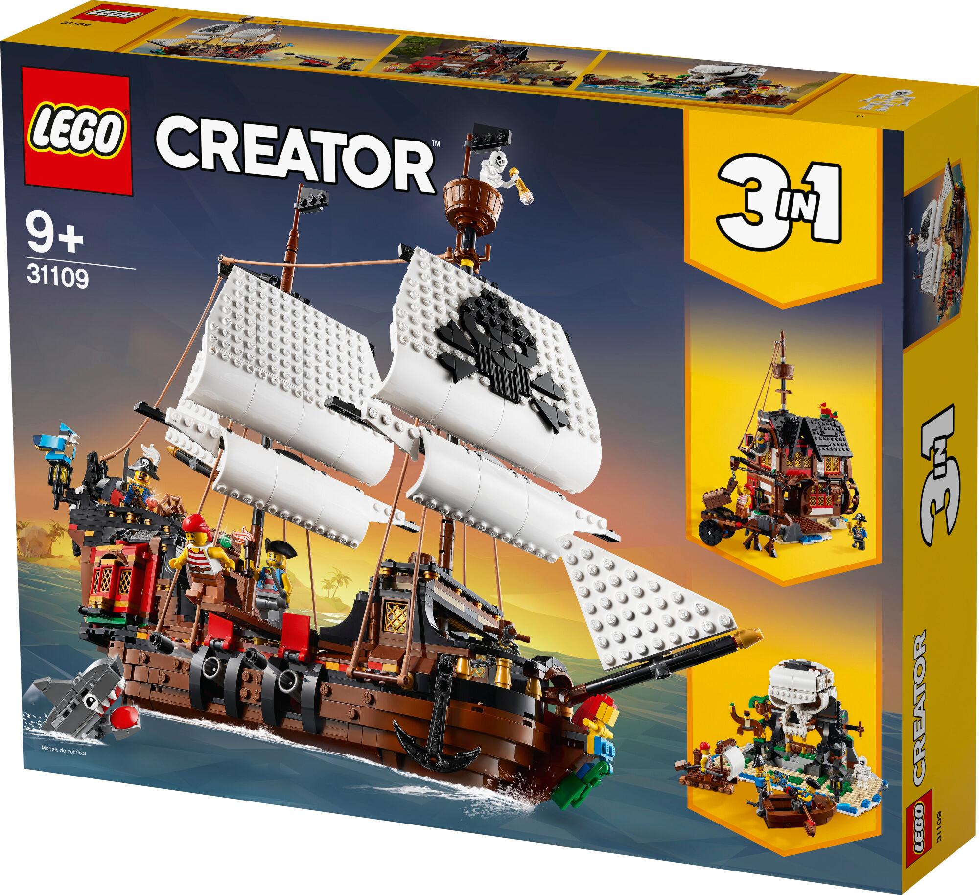 Lego Creator 31109 Merirosvolaiva