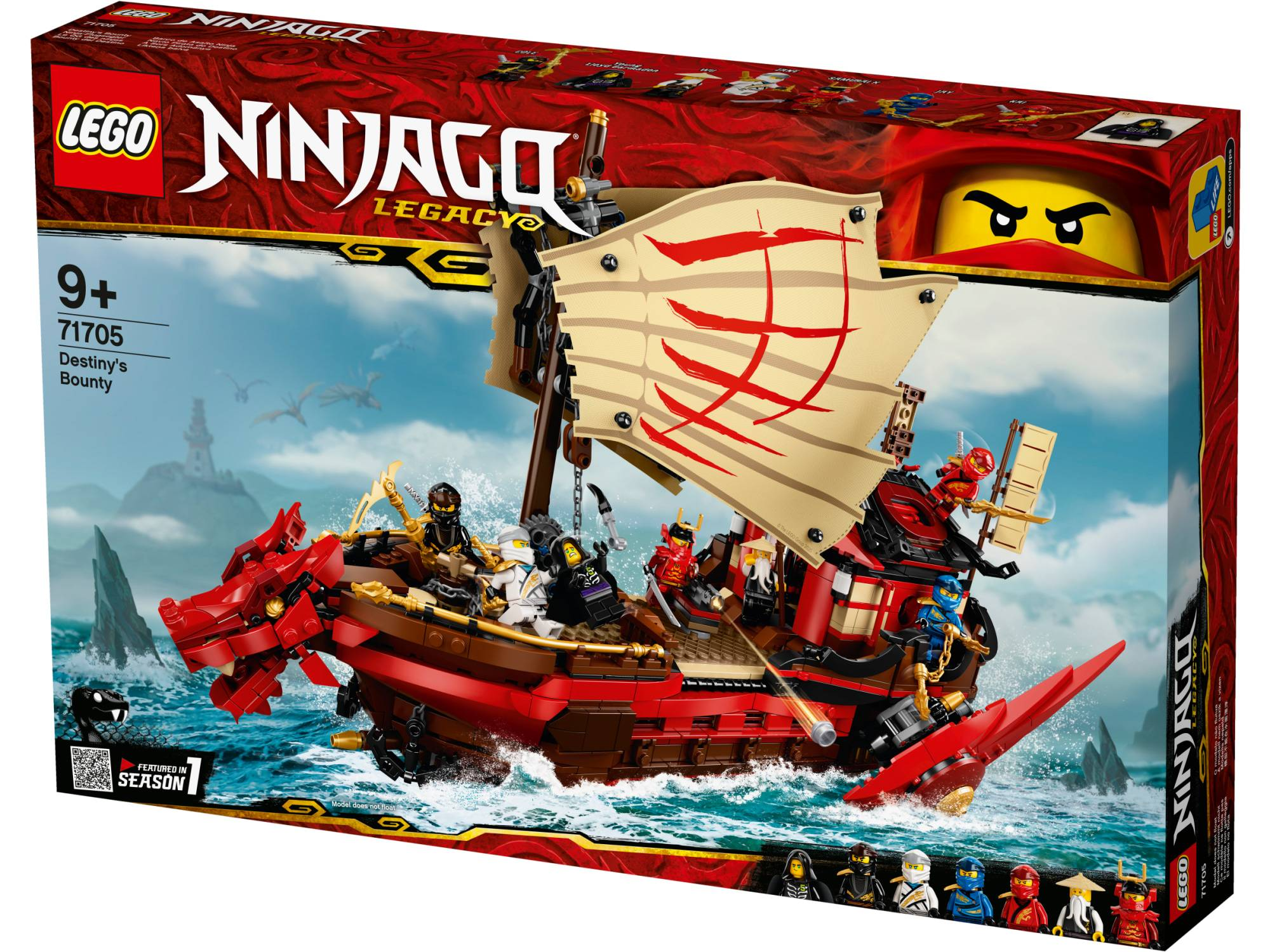 Lego Ninjago 71705 Kohtalon alus