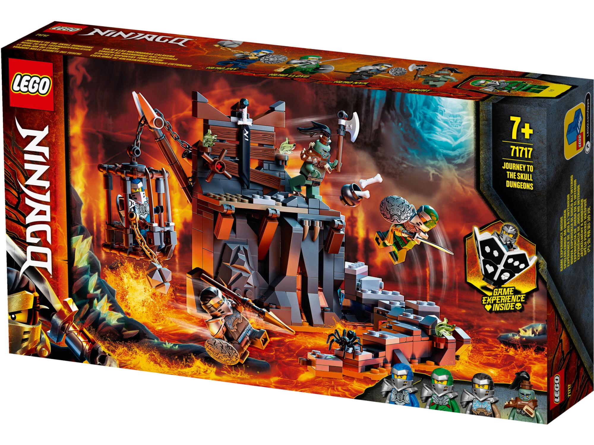 Lego Ninjago 71717 Matka pääkallotyrmiin