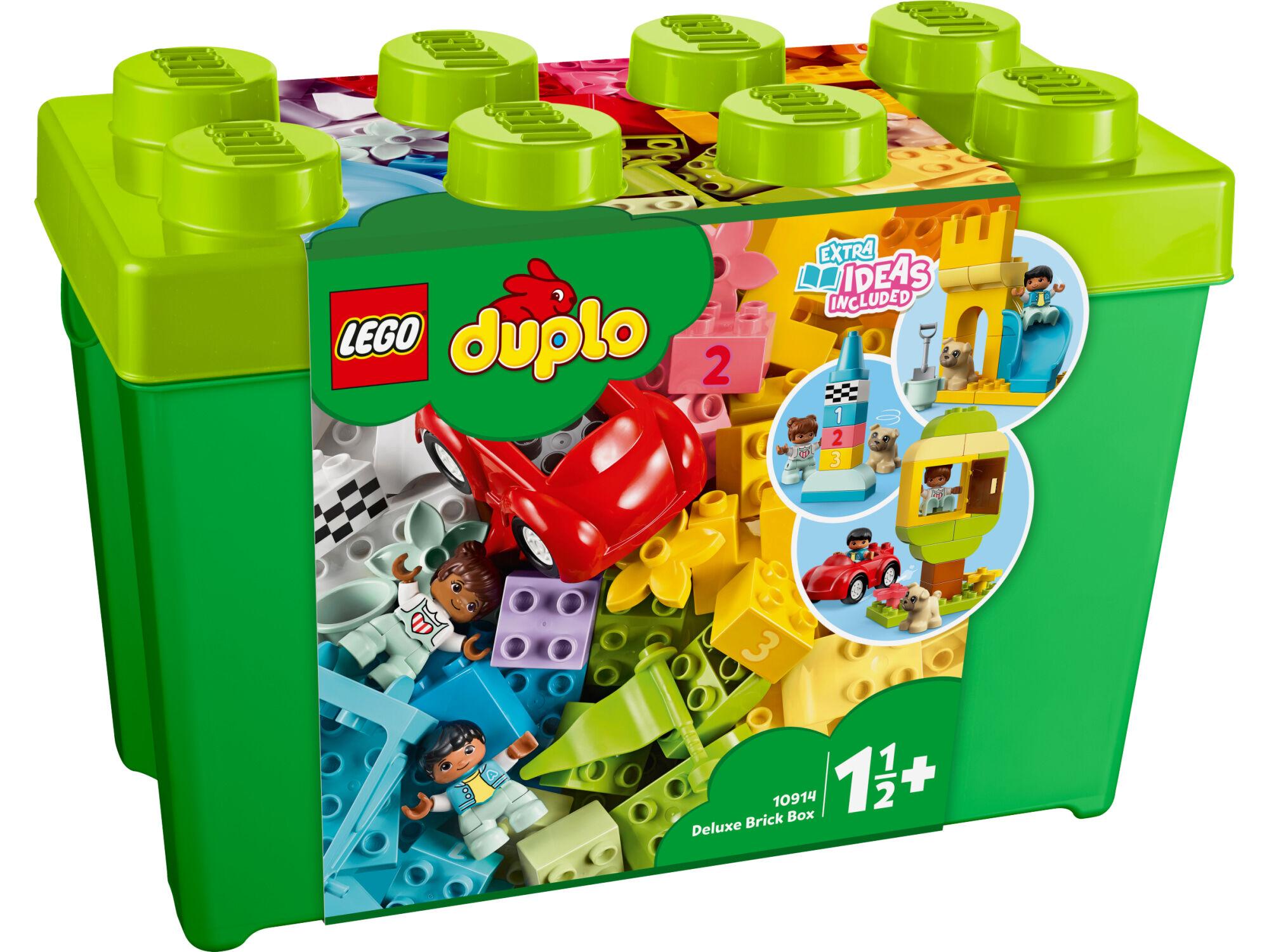 Lego DUPLO Classic 10914 Deluxe-palikkarasia