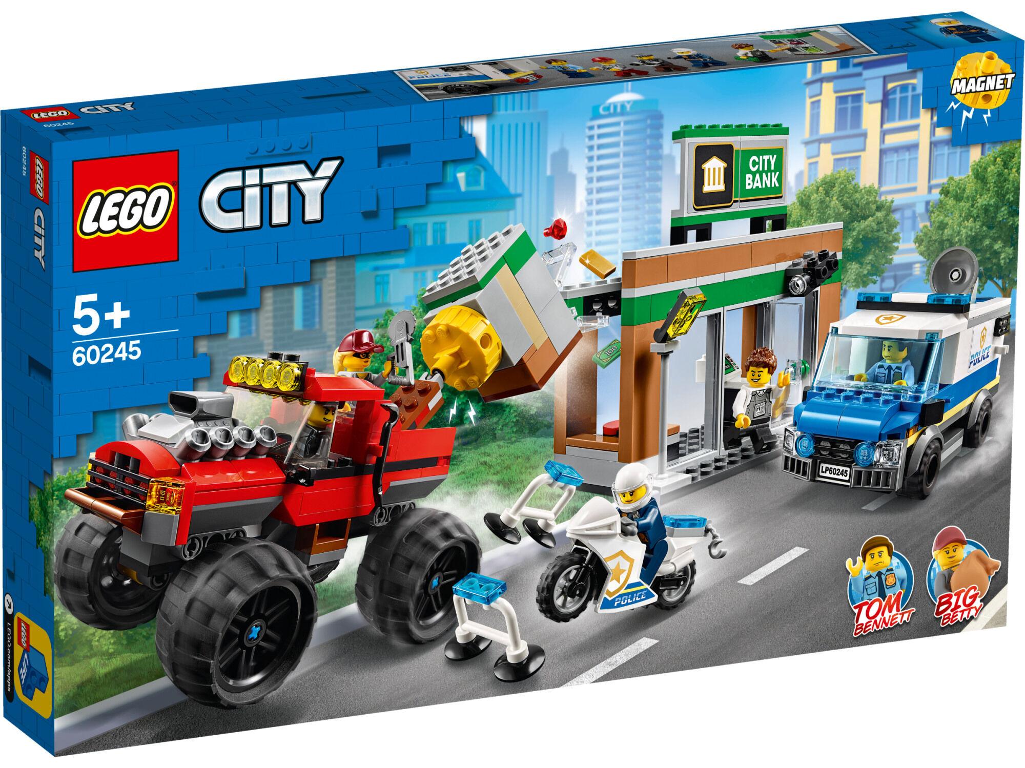 Lego City Police 60245 Ryöstö monsteriautolla