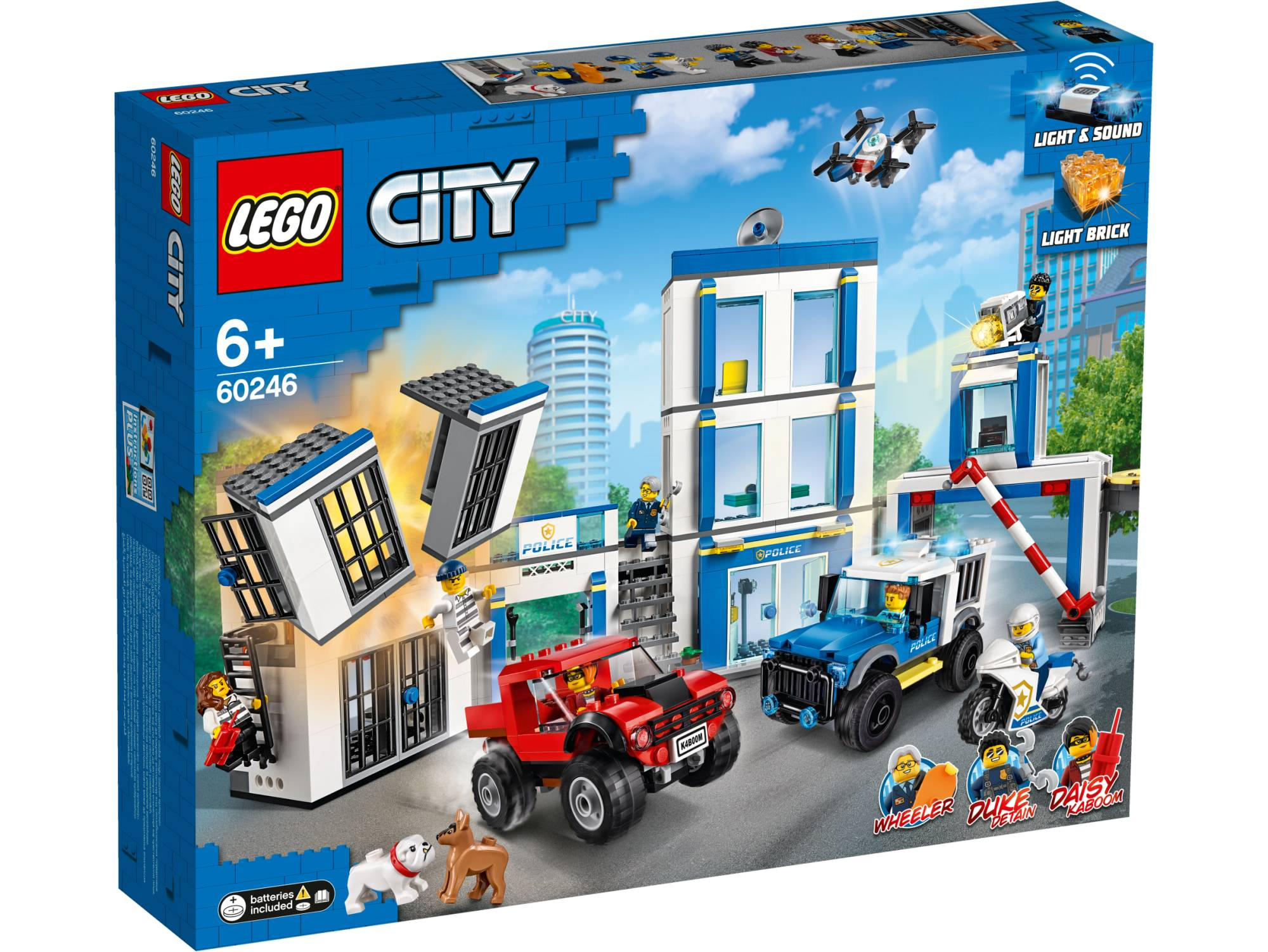 Lego City Police 60246 Poliisiasema