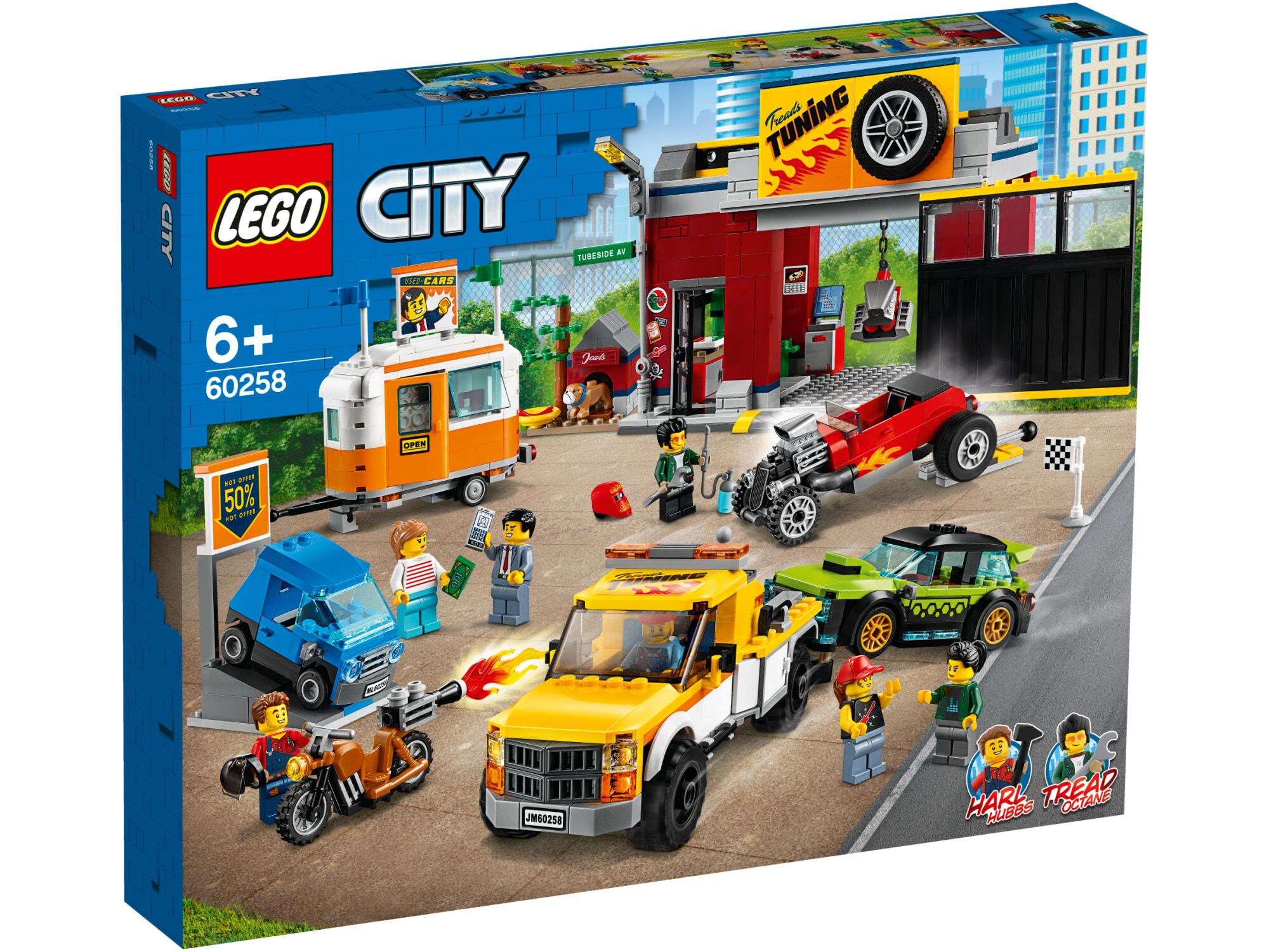 Lego City Turbo Wheels 60258 Tuunausautokorjaamo