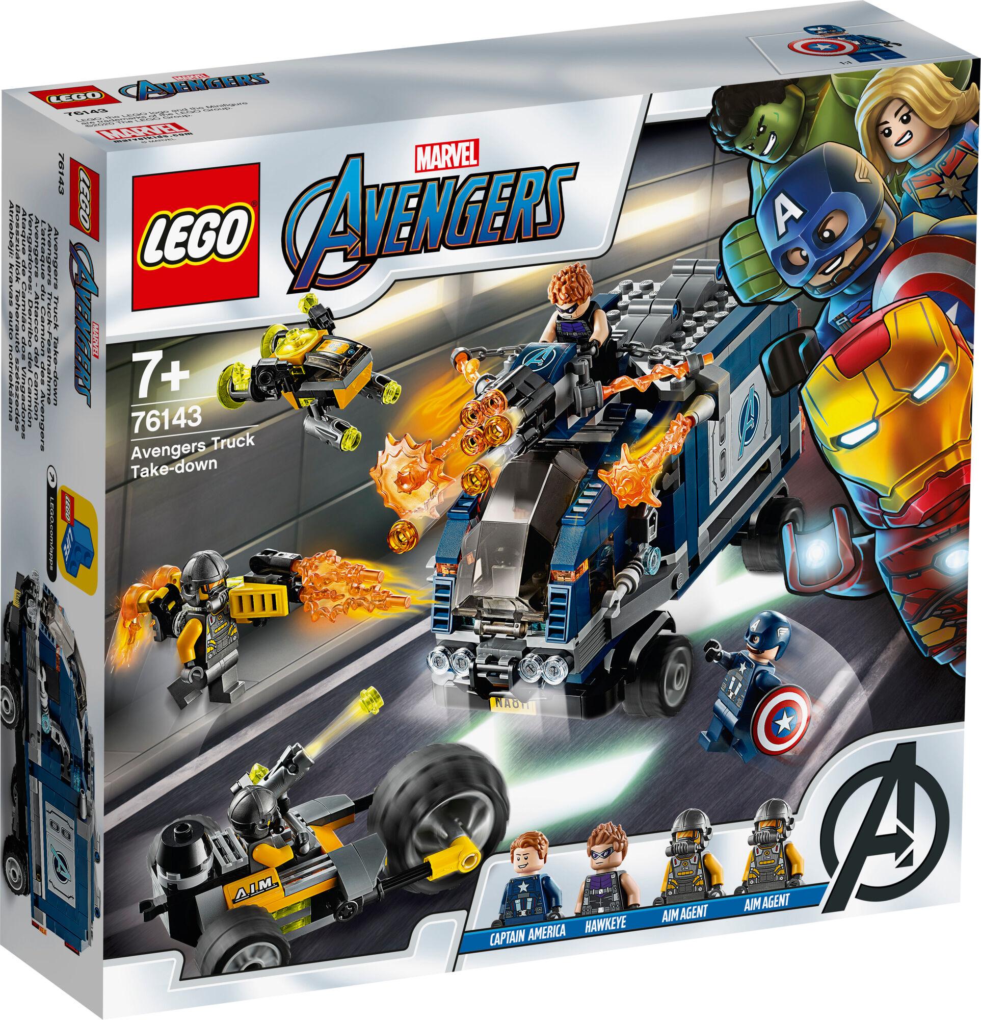 Lego Super Heroes 76143 Avengers Autotaistelu