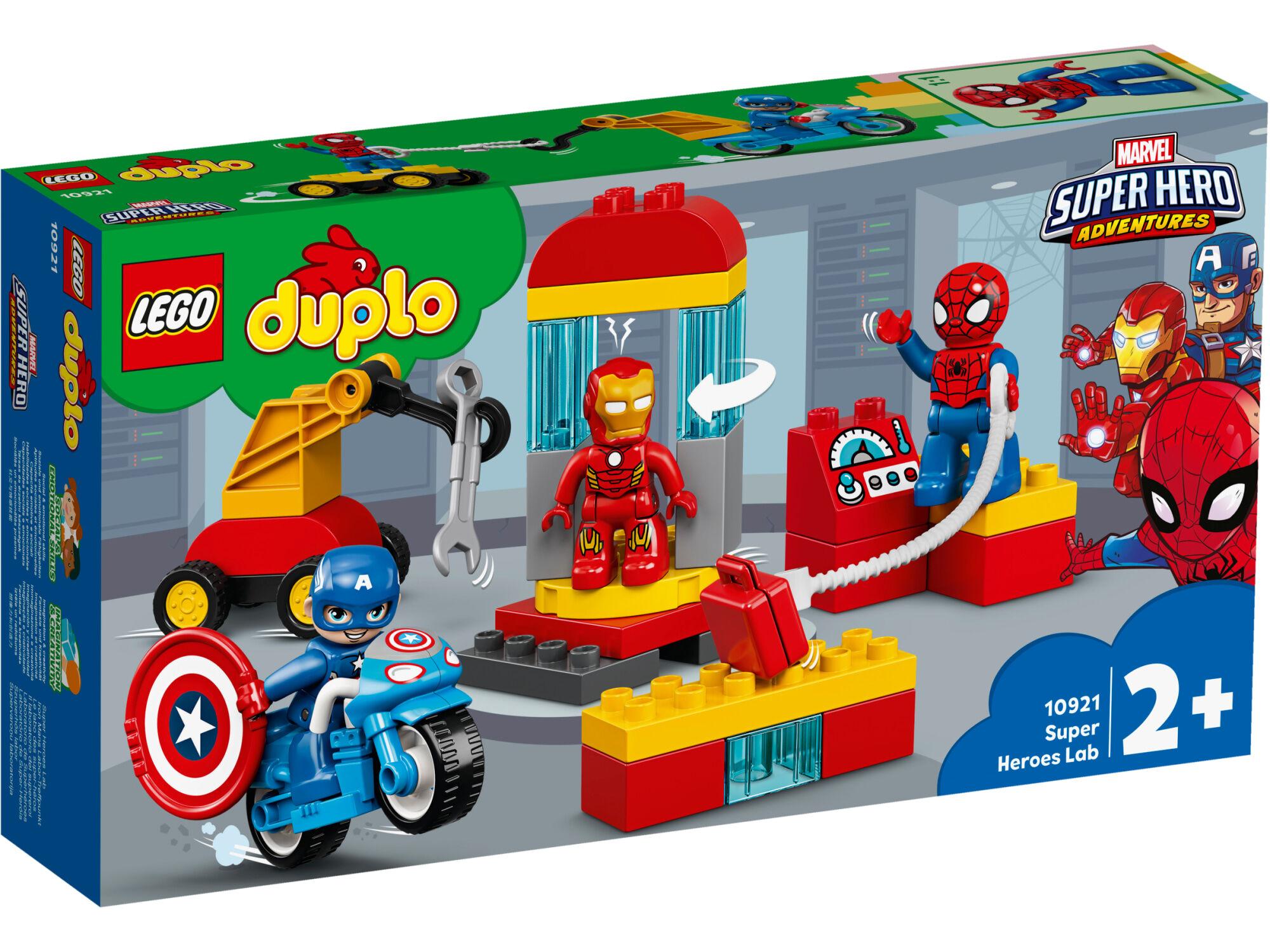 Lego DUPLO Super Heroes 10921 Supersankarien laboratorio