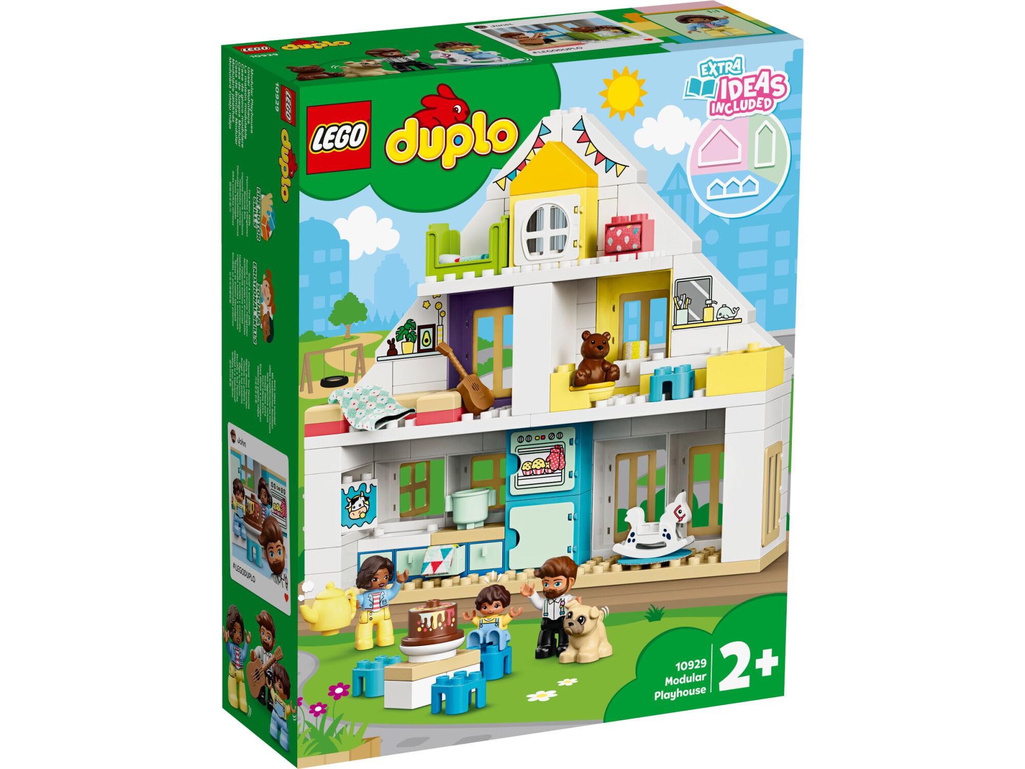Lego DUPLO Town 10929 Moduulileikkimökki