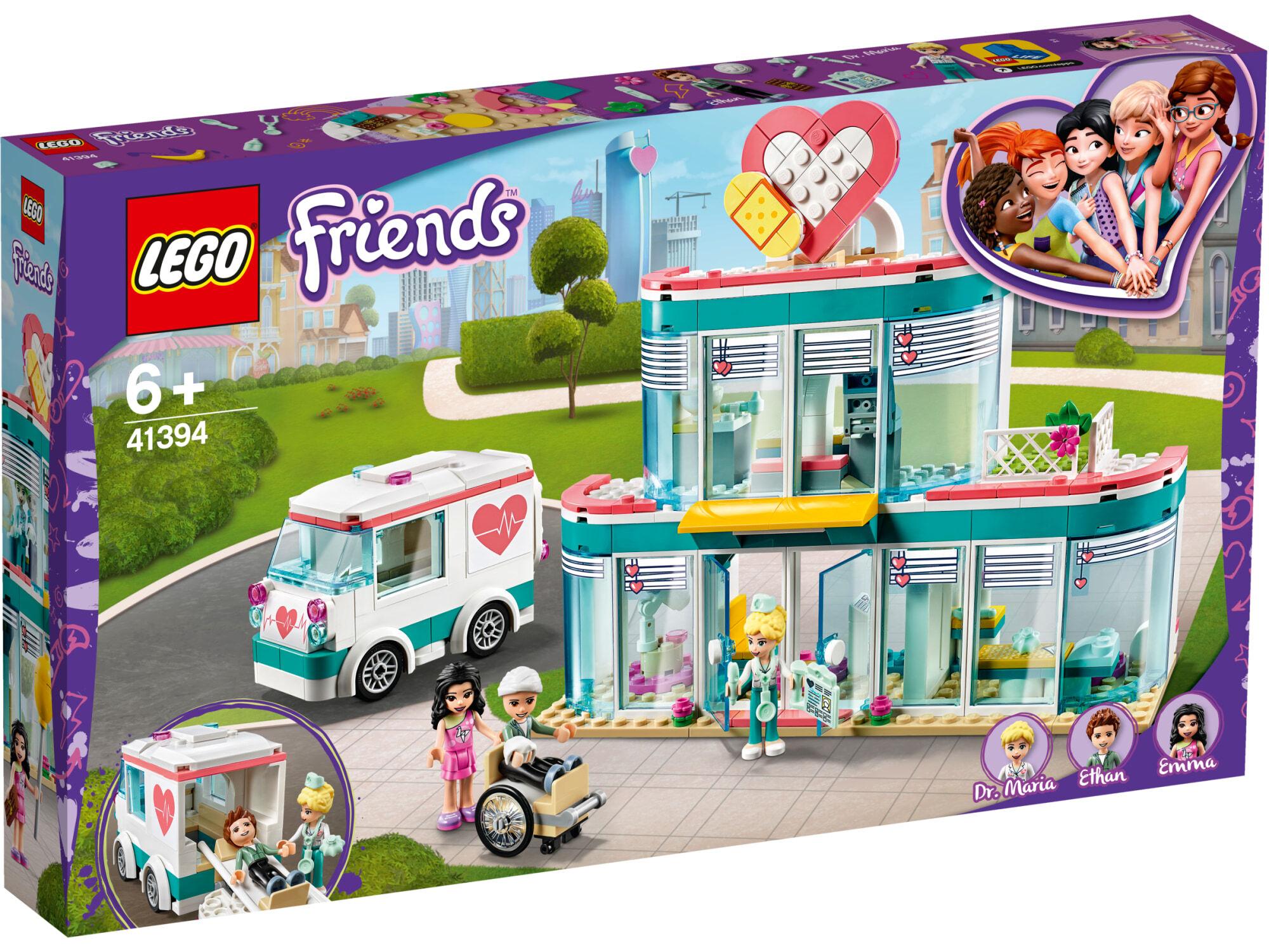 Lego Friends 41394 Heartlake Cityn sairaala