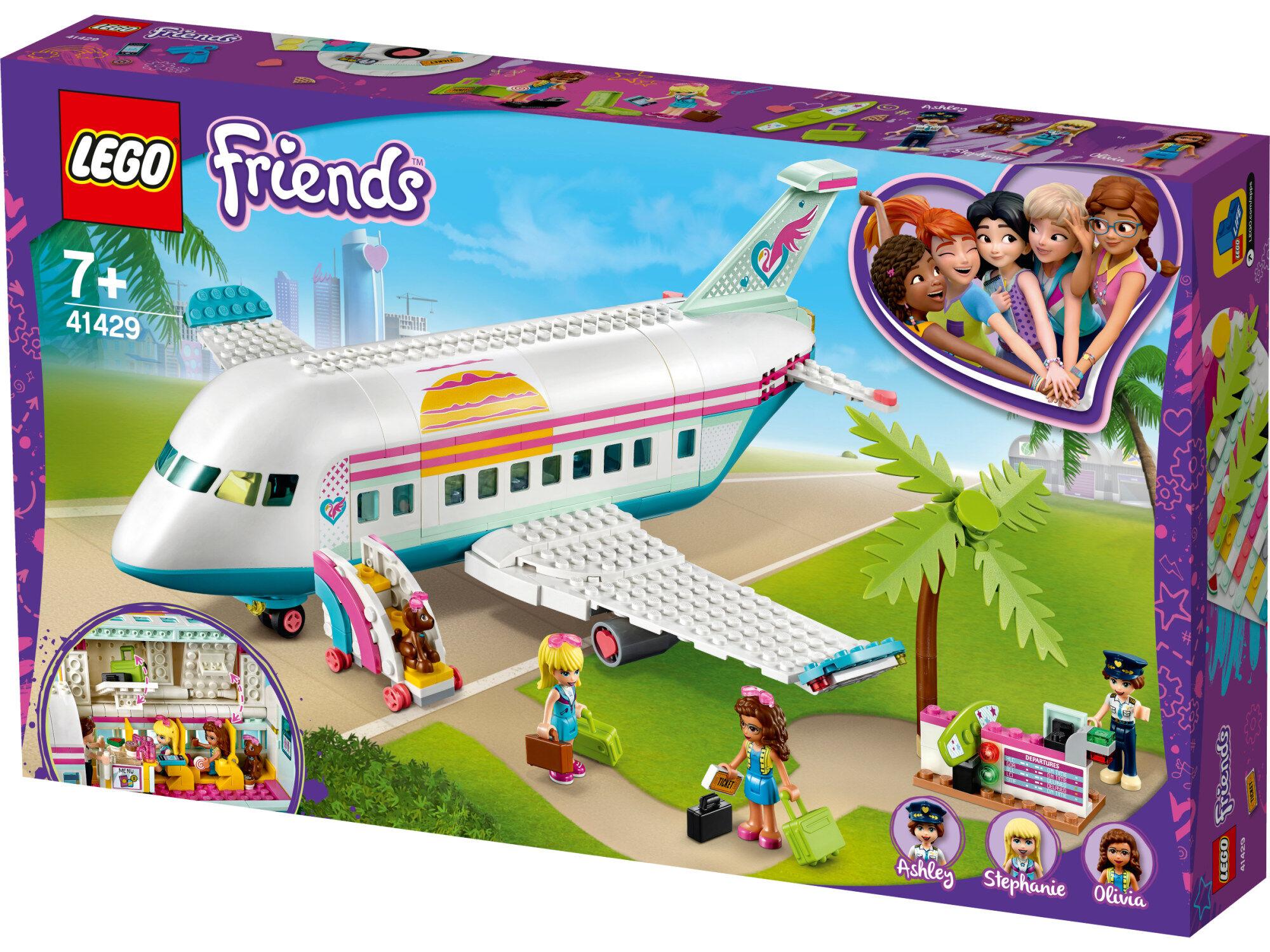 Lego Friends 41429 Heartlake Cityn lentokone