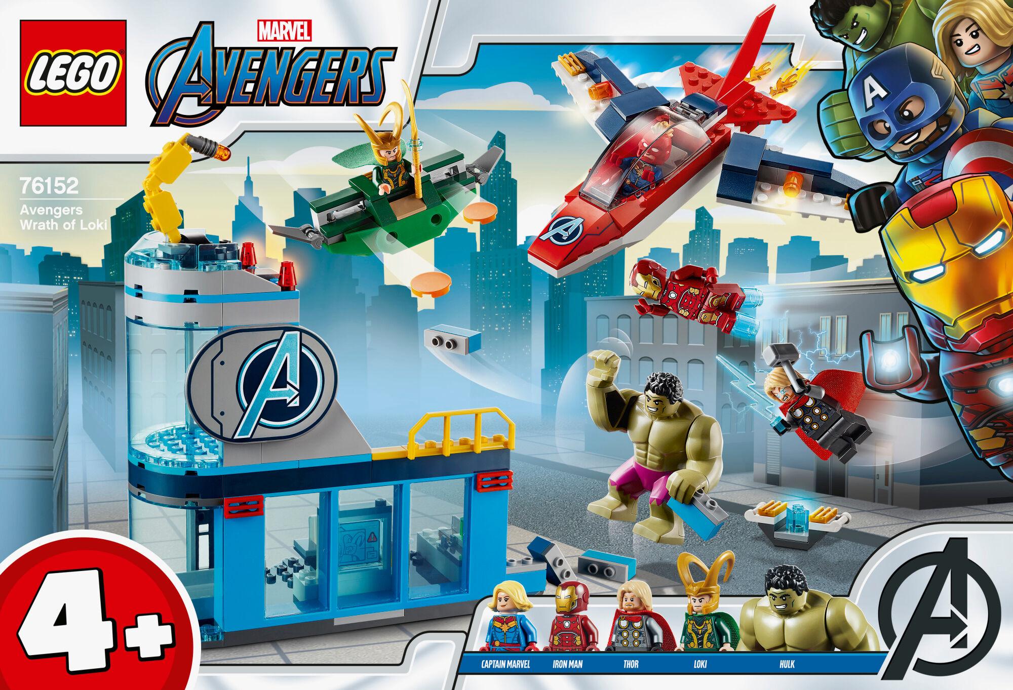 Lego Super Heroes 76152 Avengers Lokin raivo