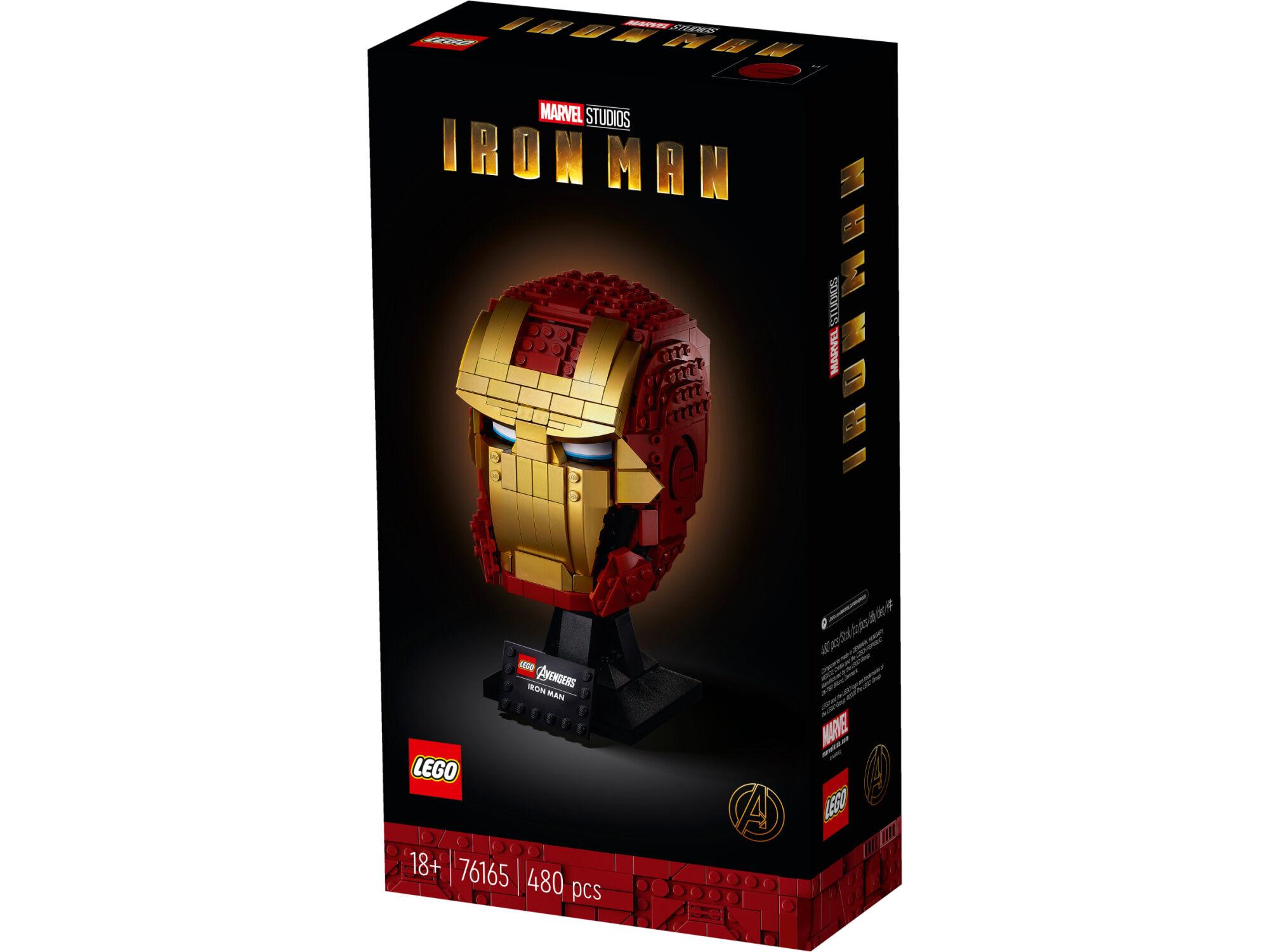 Lego Super Heroes 76165 Iron Man -kypärä