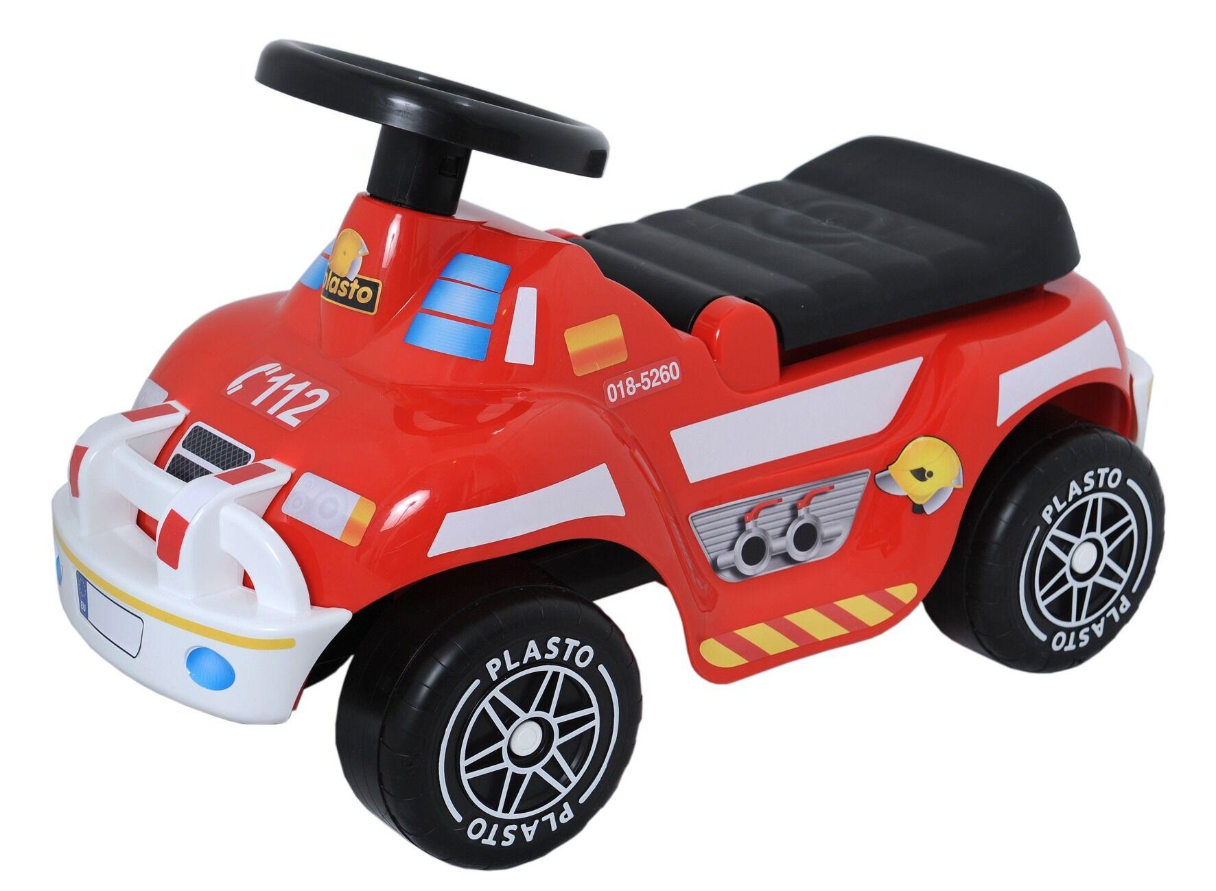 Plasto Offroad paloauto potkuauto hiljaisilla pyörillä
