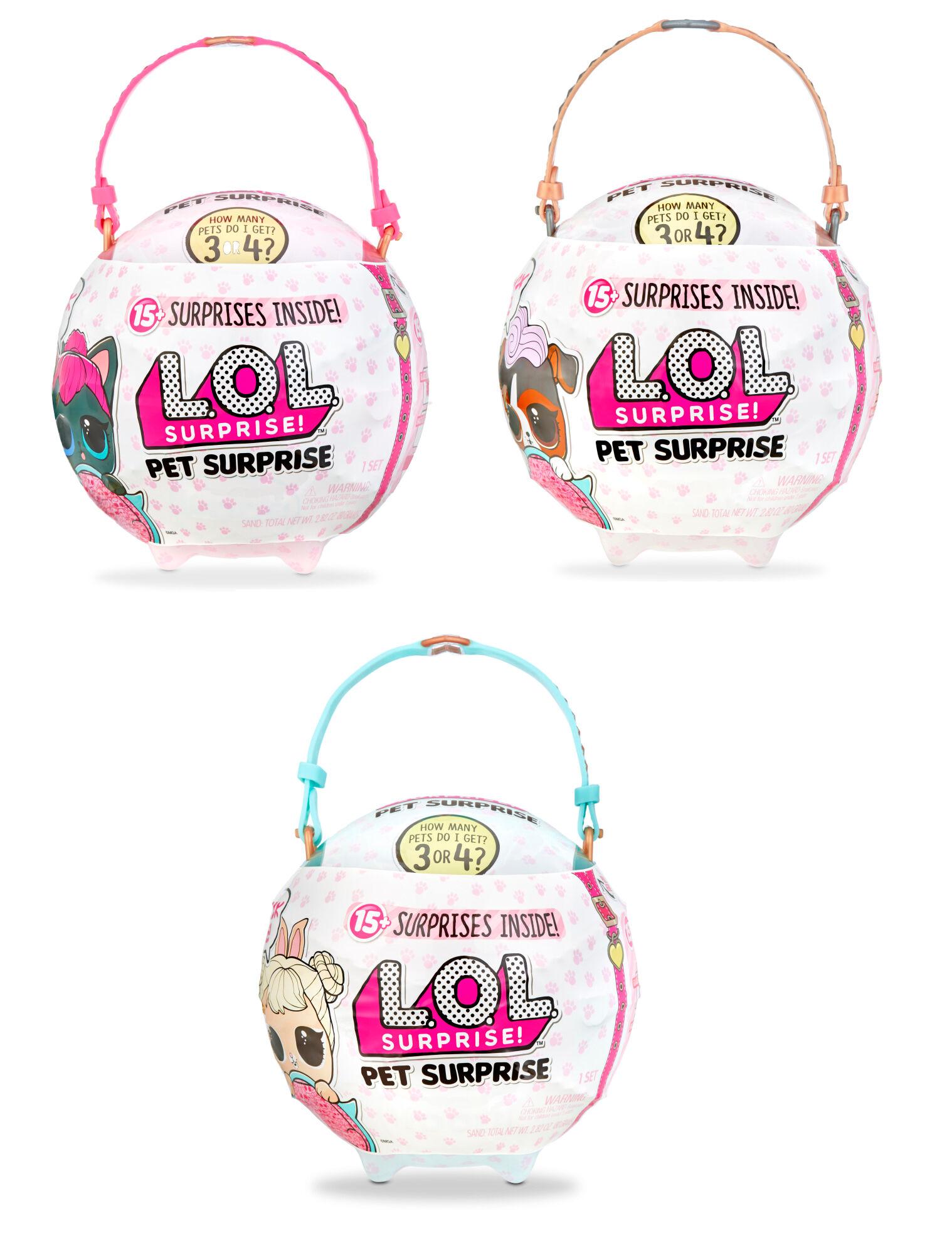 L.O.L. Surprise Biggie Pet Wave 1 lemmikki