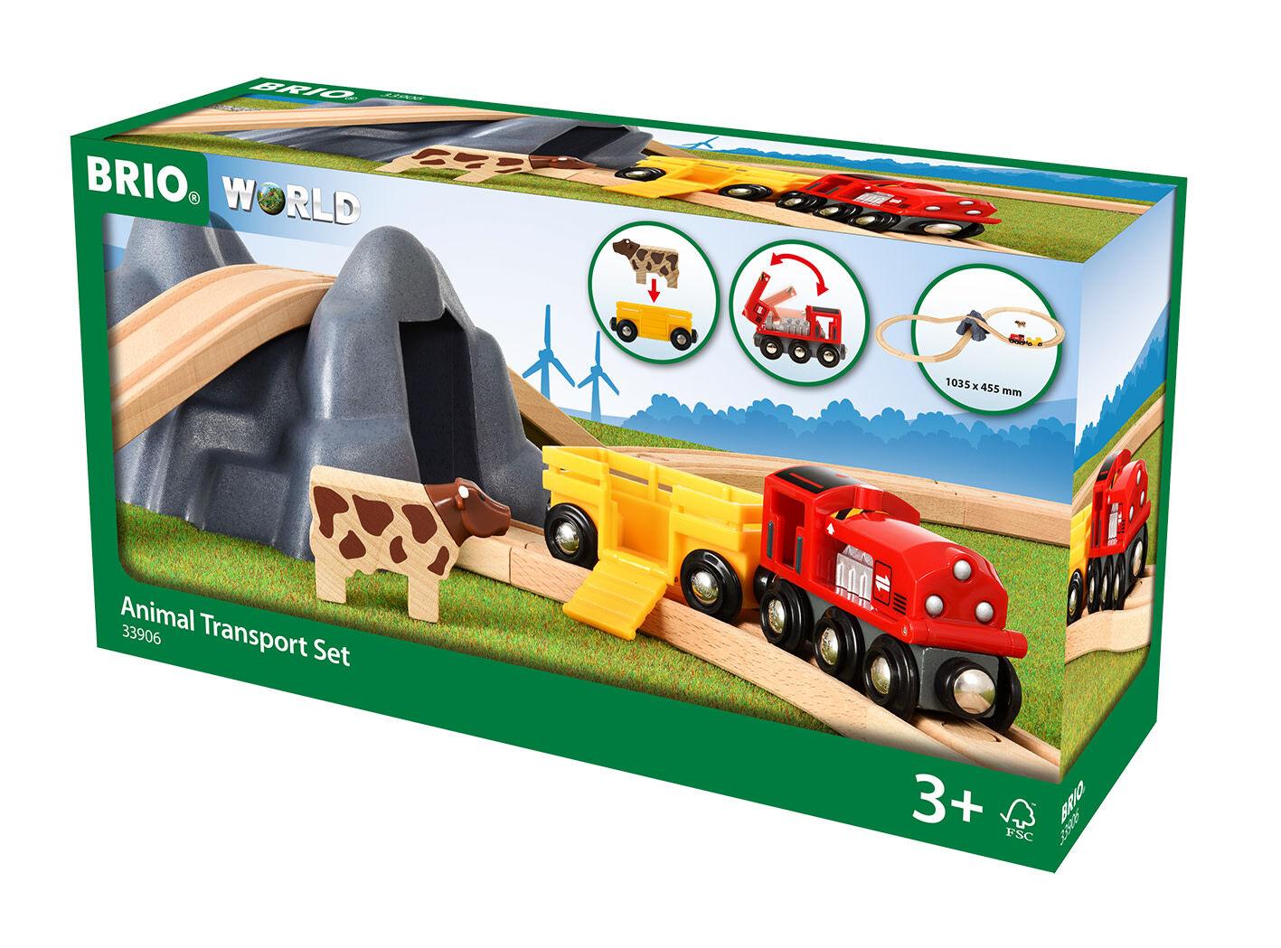 Brio World Animal Transport junaratasetti