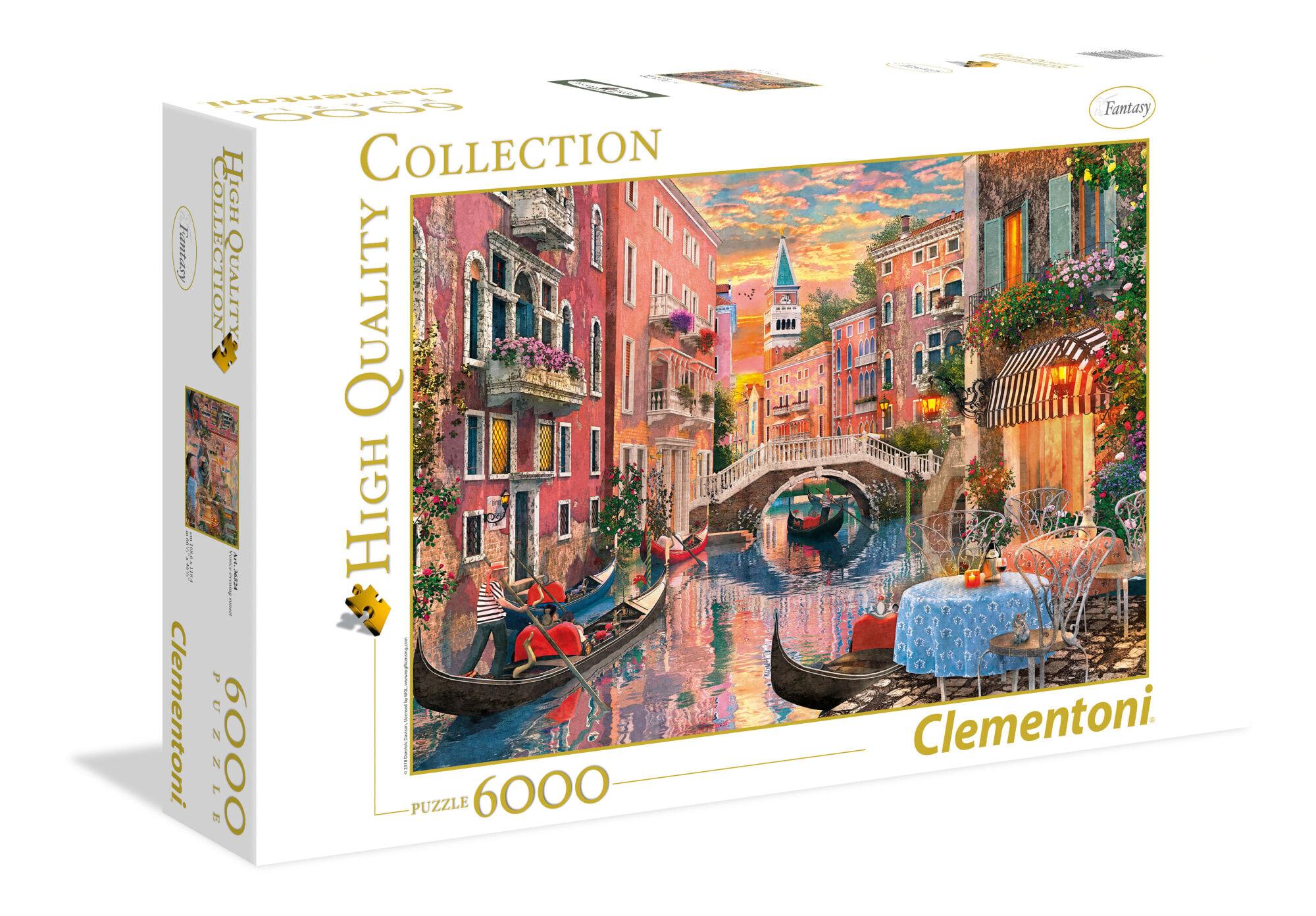 Clementoni Venice Evening Sunset 6000p palapeli